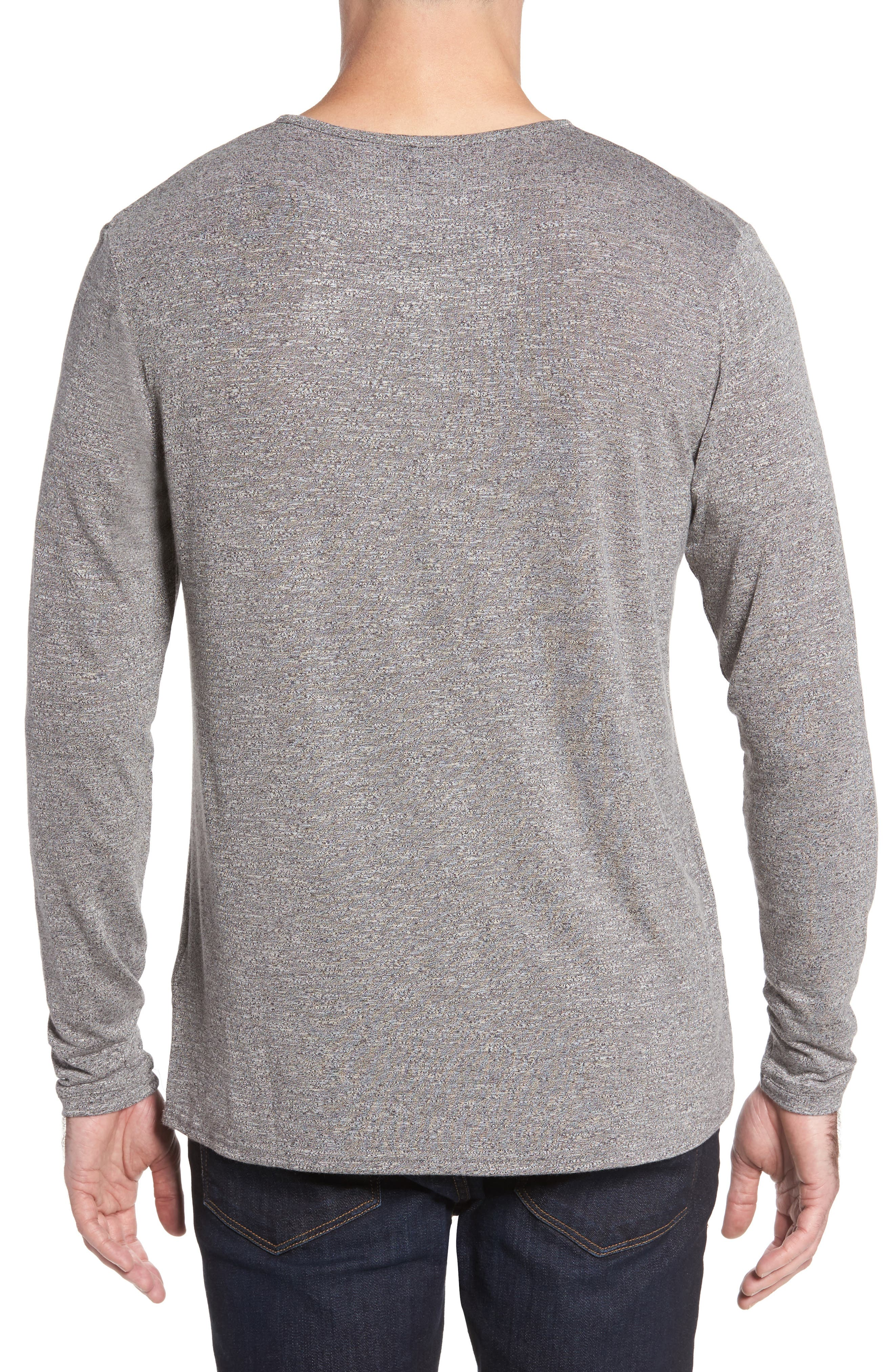 Light Flame Henley,                             Alternate thumbnail 2, color,                             GREY