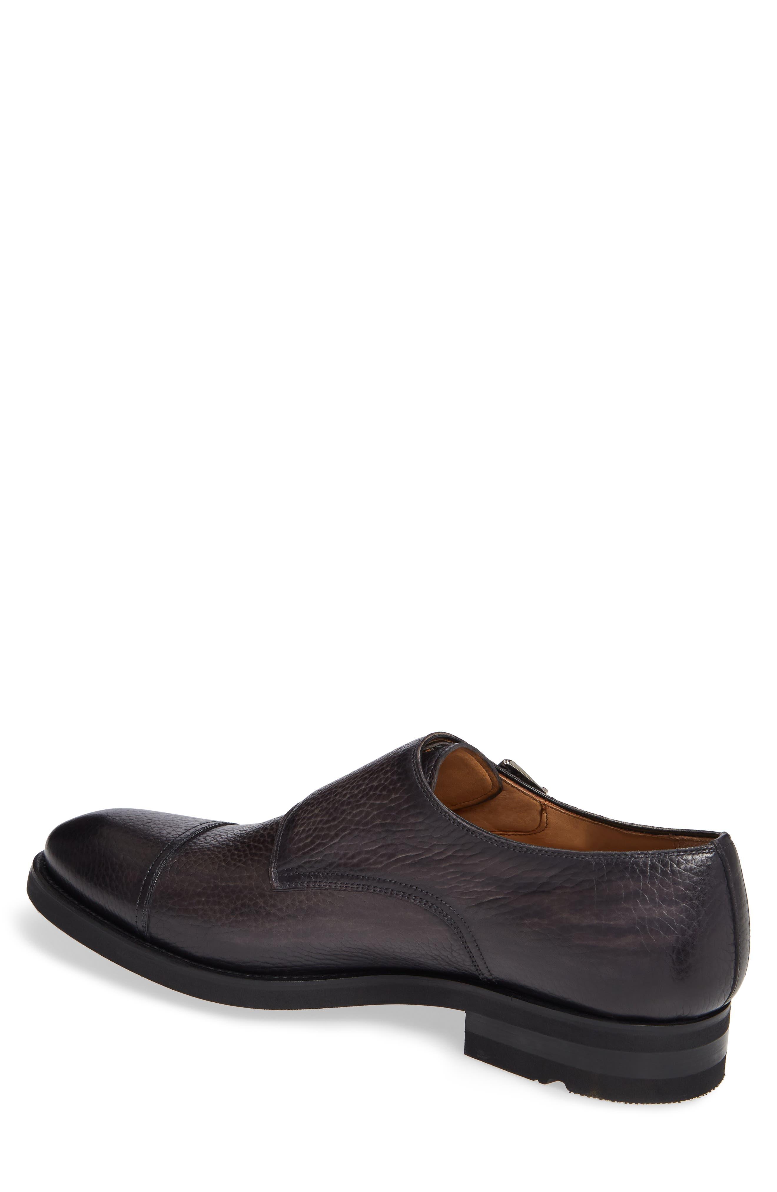 Jebor Double Monk Strap Shoe,                             Alternate thumbnail 2, color,                             GREY