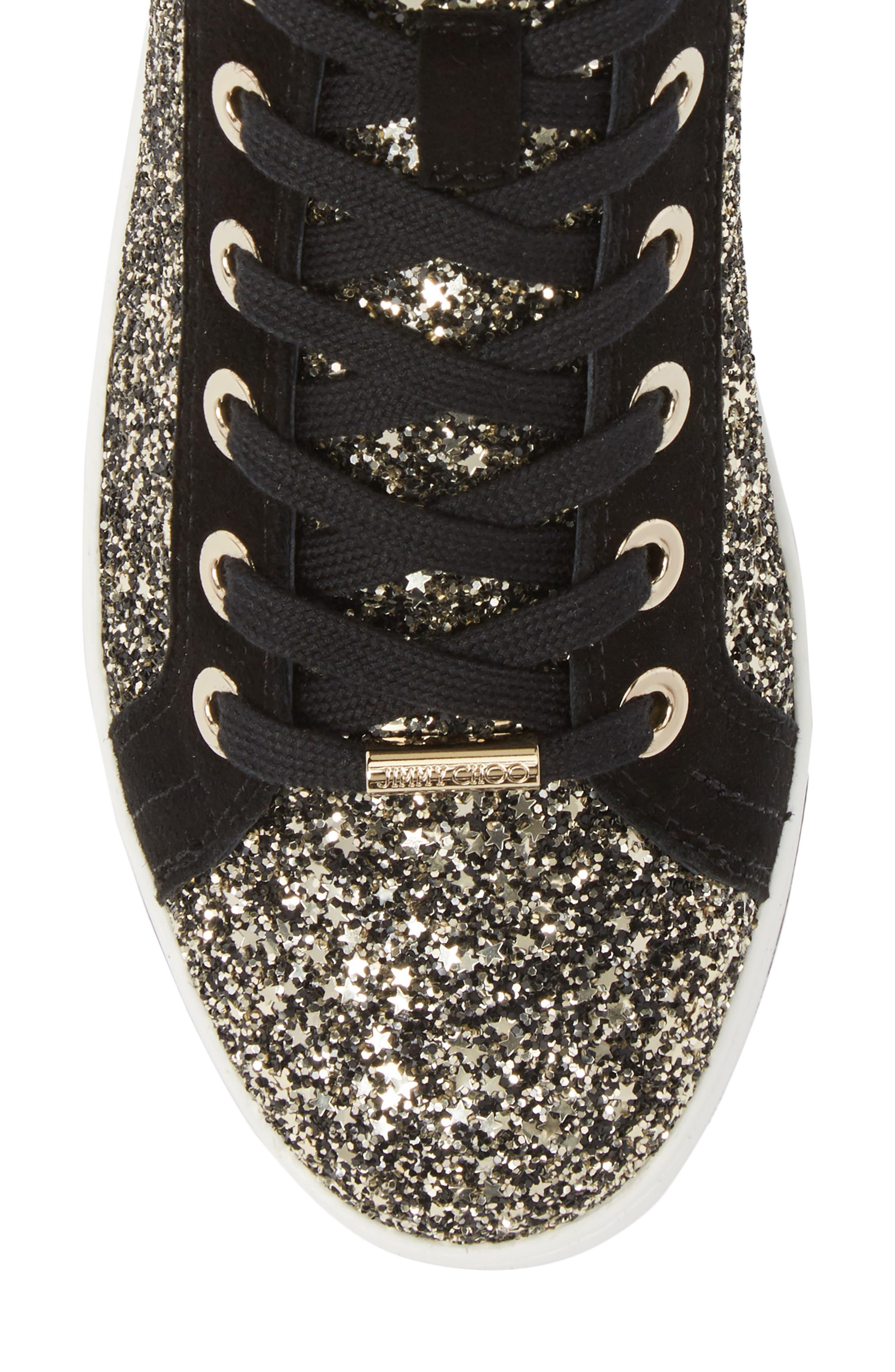 Colt Glitter High Top Sneaker,                             Alternate thumbnail 5, color,                             710