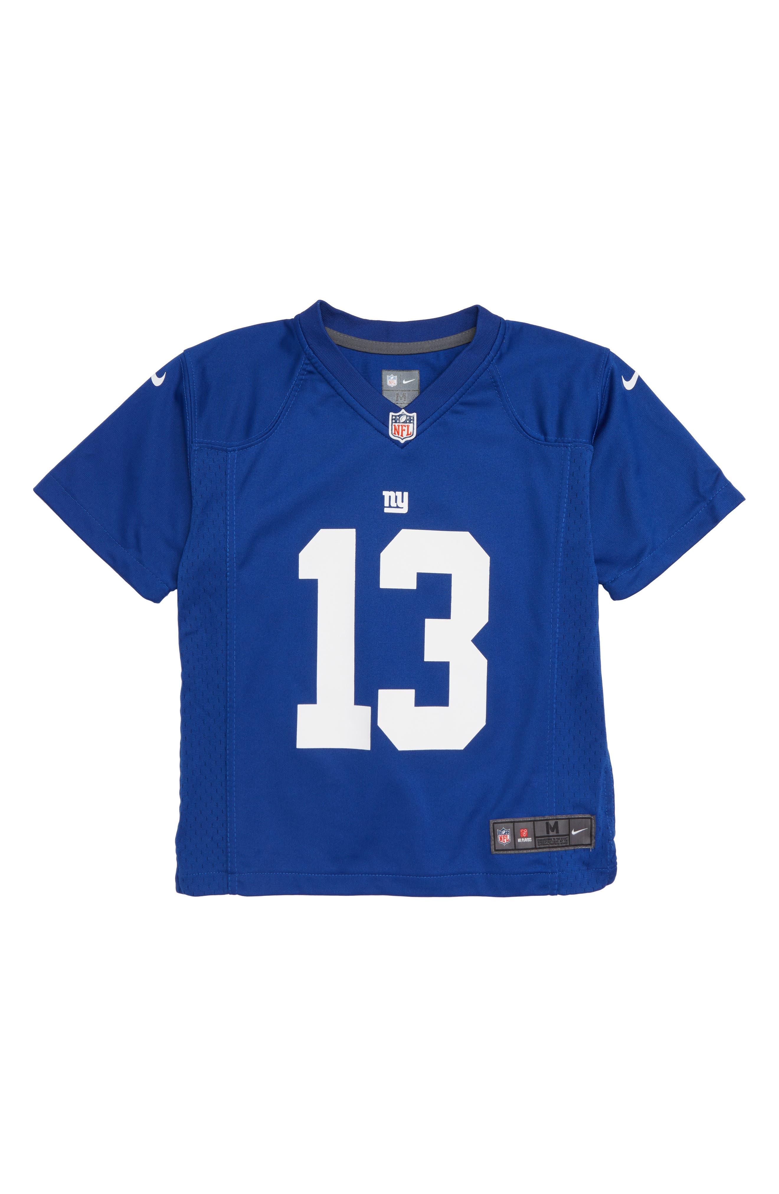 NFL Logo New York Giants Odell Beckham Jersey,                         Main,                         color, ROYAL