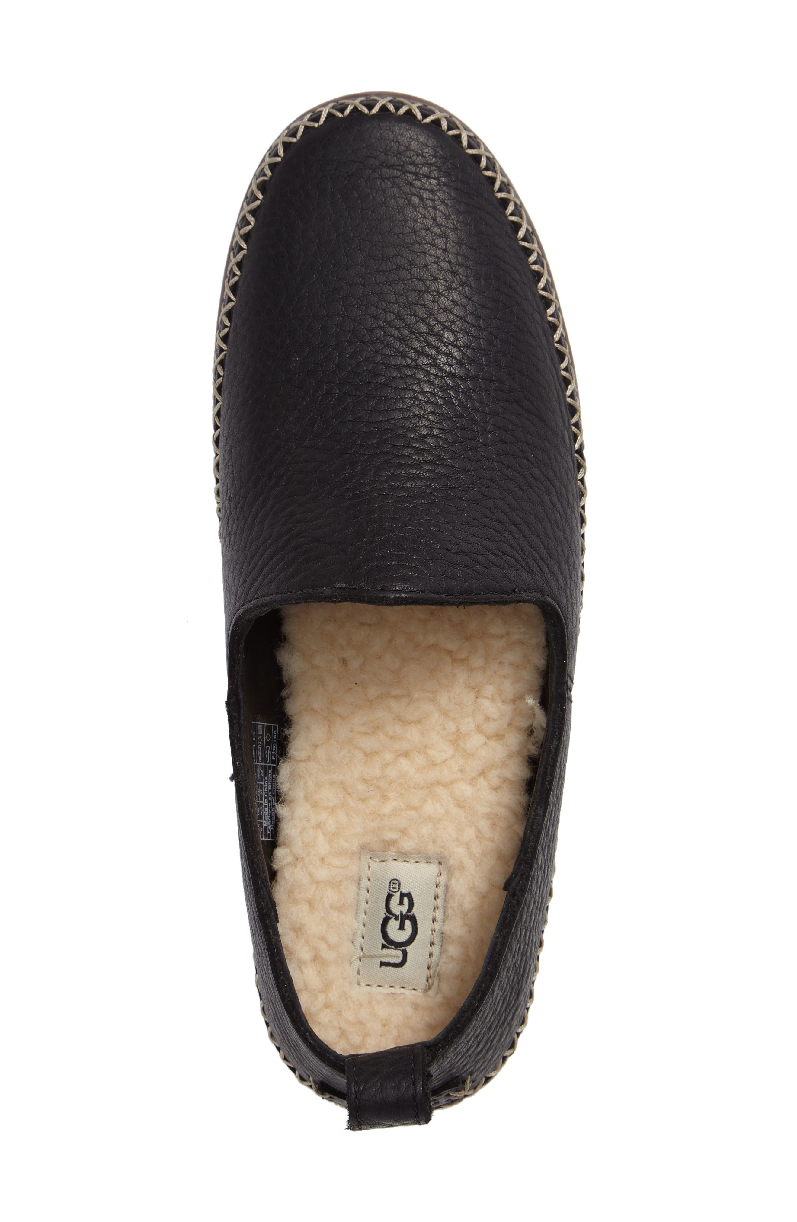 UGG<SUP>®</SUP>,                             Delfina Flat,                             Alternate thumbnail 3, color,                             001