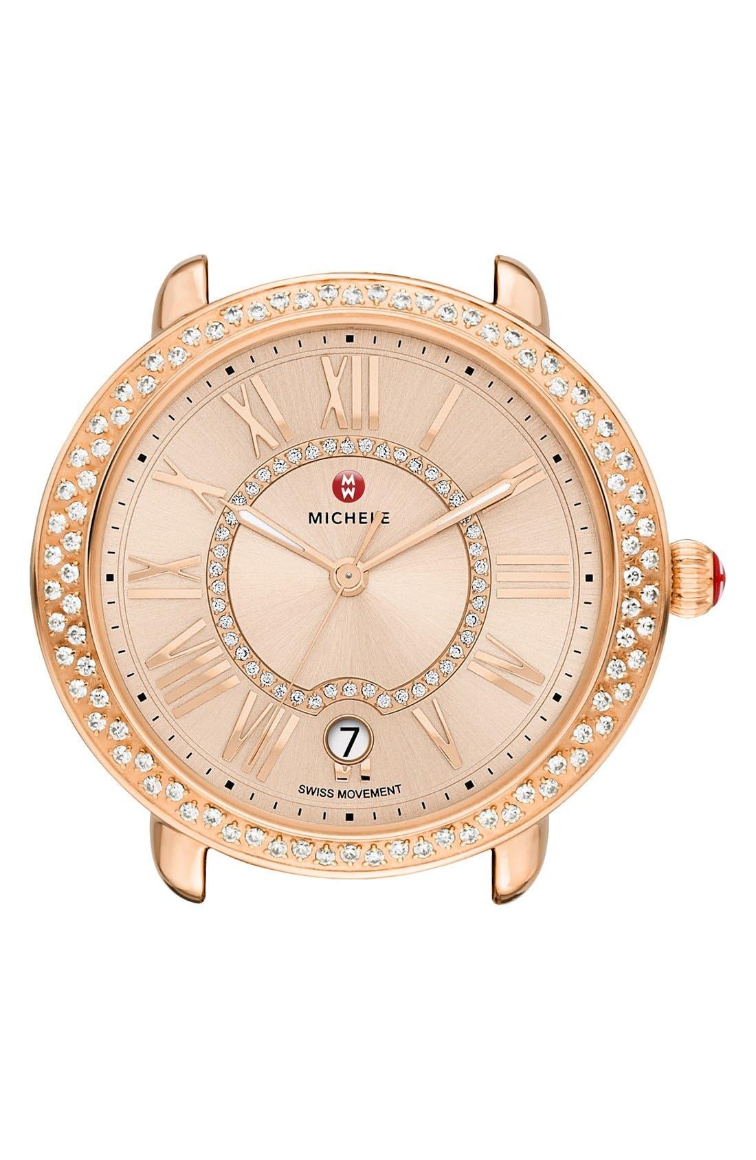 Serein 16 Diamond Watch Case, 34mm x 36mm,                             Main thumbnail 5, color,