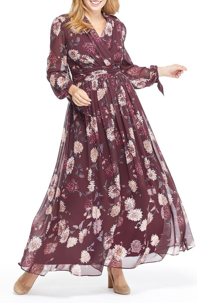 petite style maxi dress
