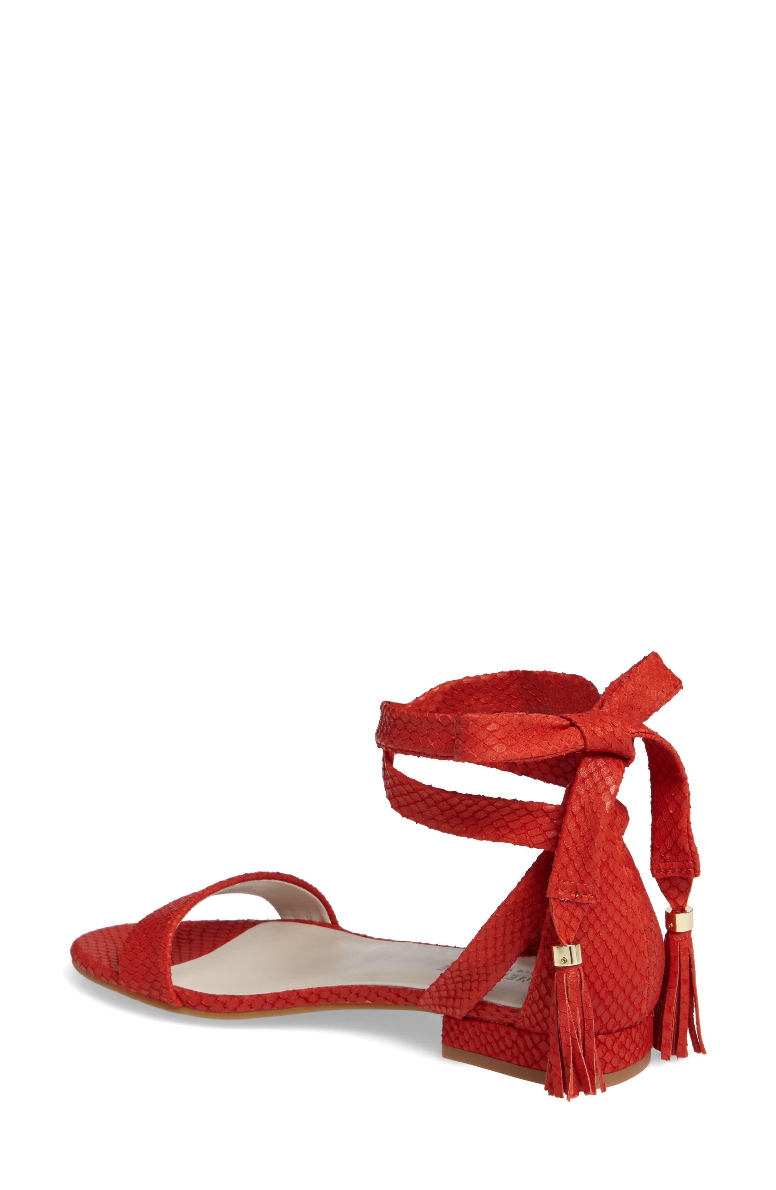 Valen Tassel Lace-Up Sandal,                             Alternate thumbnail 24, color,