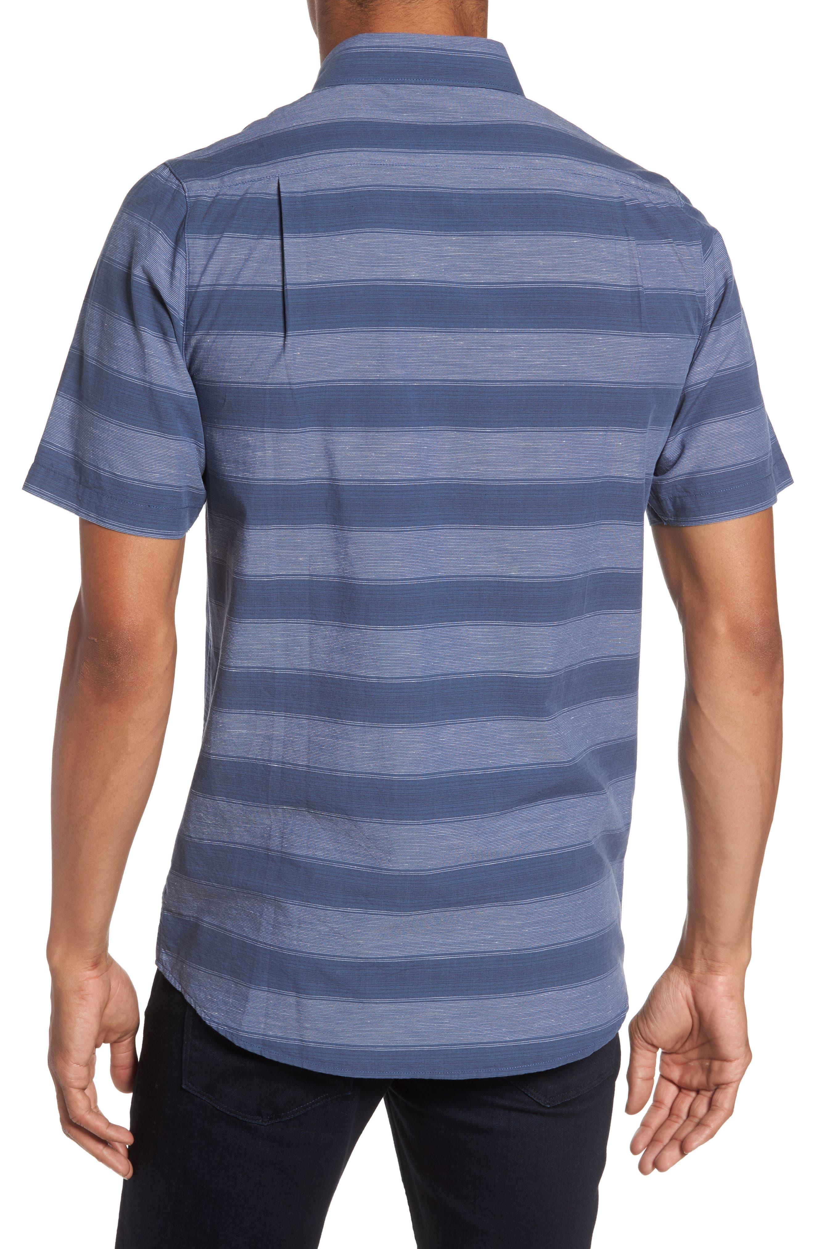 Kenneth Stripe Sport Shirt,                             Alternate thumbnail 2, color,                             400