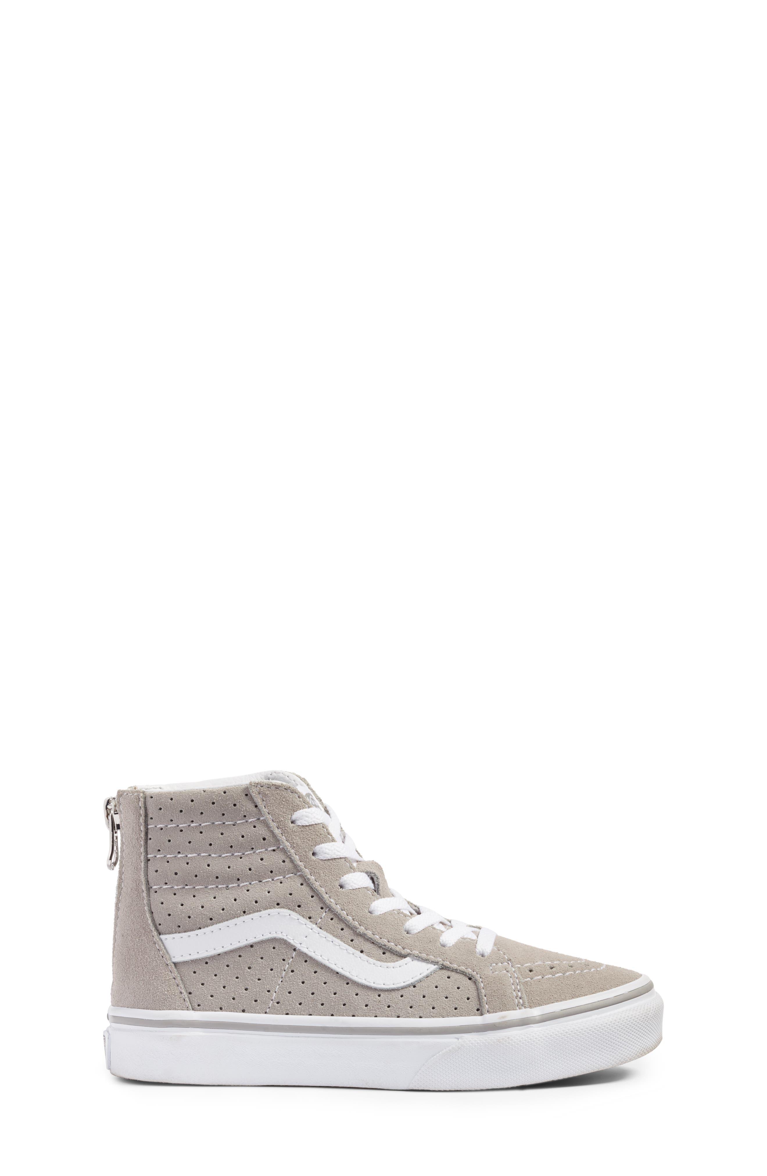 Sk8-Hi Zip Sneaker,                             Alternate thumbnail 3, color,                             050