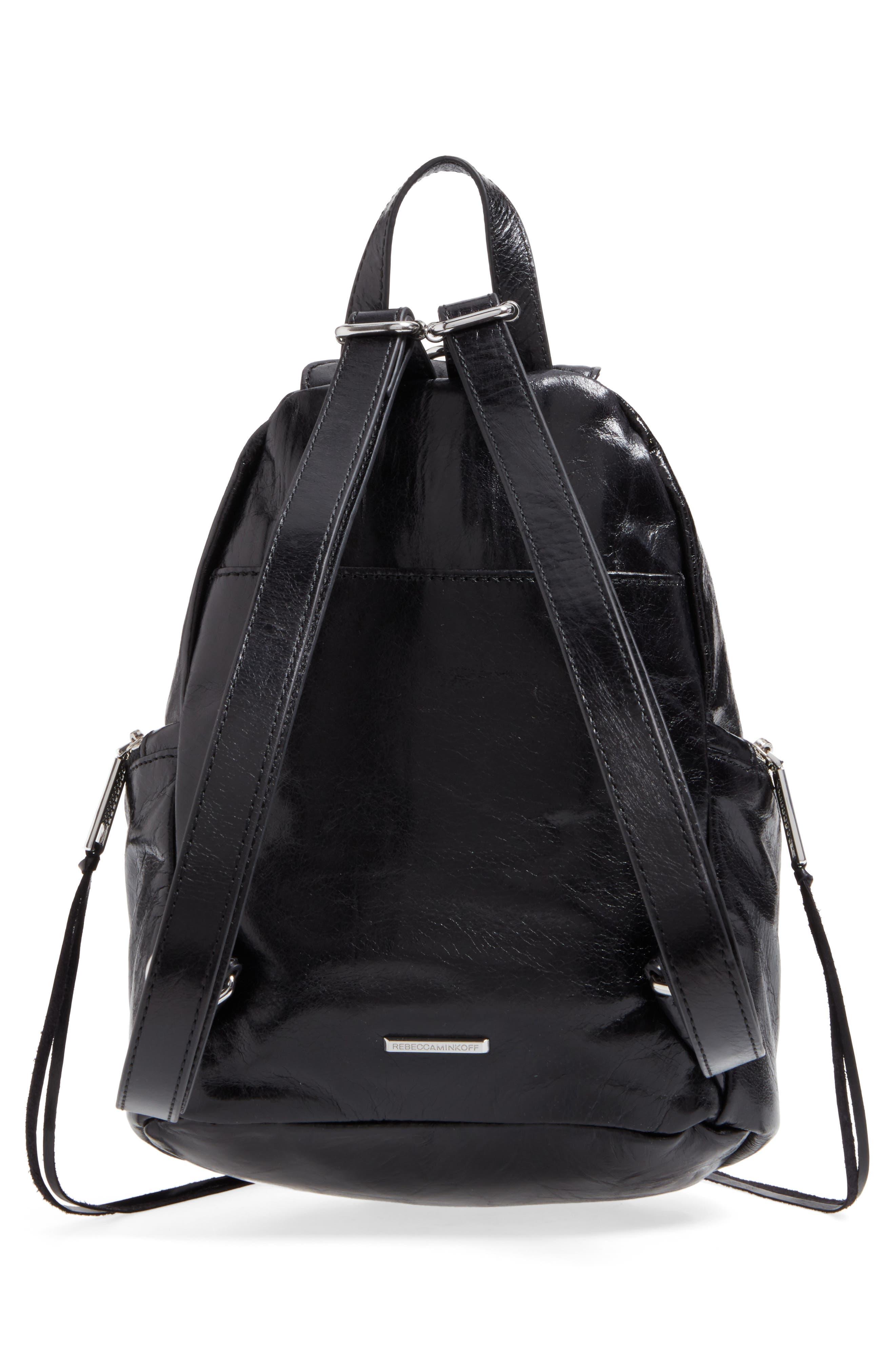 Medium Julian Leather Backpack,                             Alternate thumbnail 10, color,