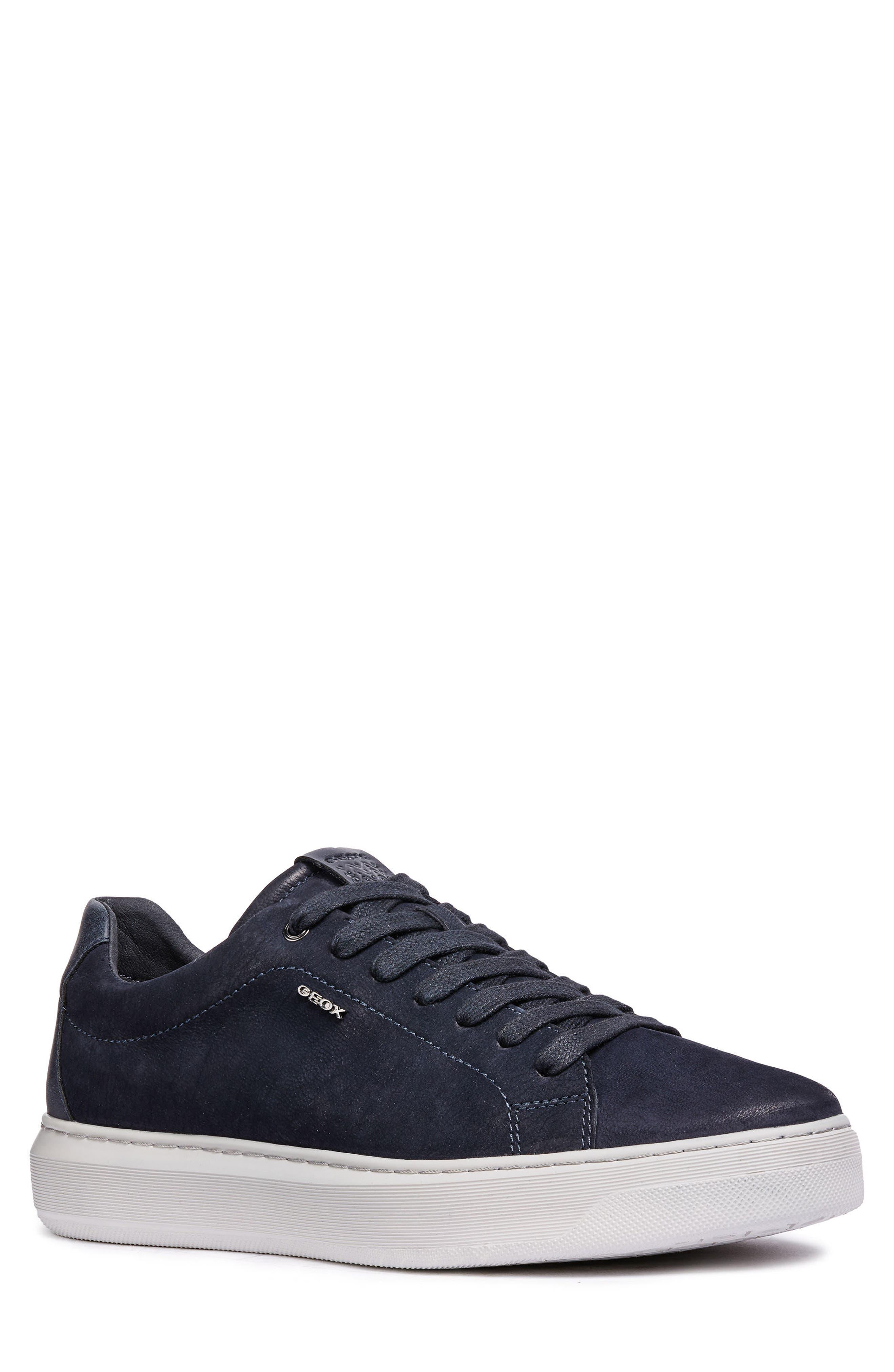 men's geox deiven 5 low top sneaker, size 10us / 43eu - blue