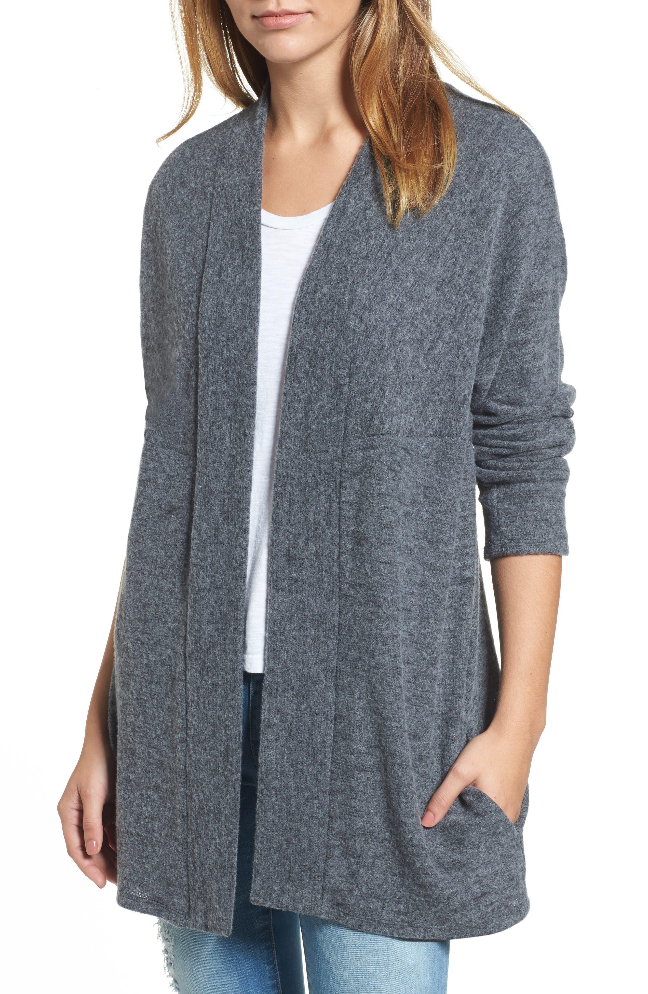 Caslon Open Knit Cardigan,                         Main,                         color,