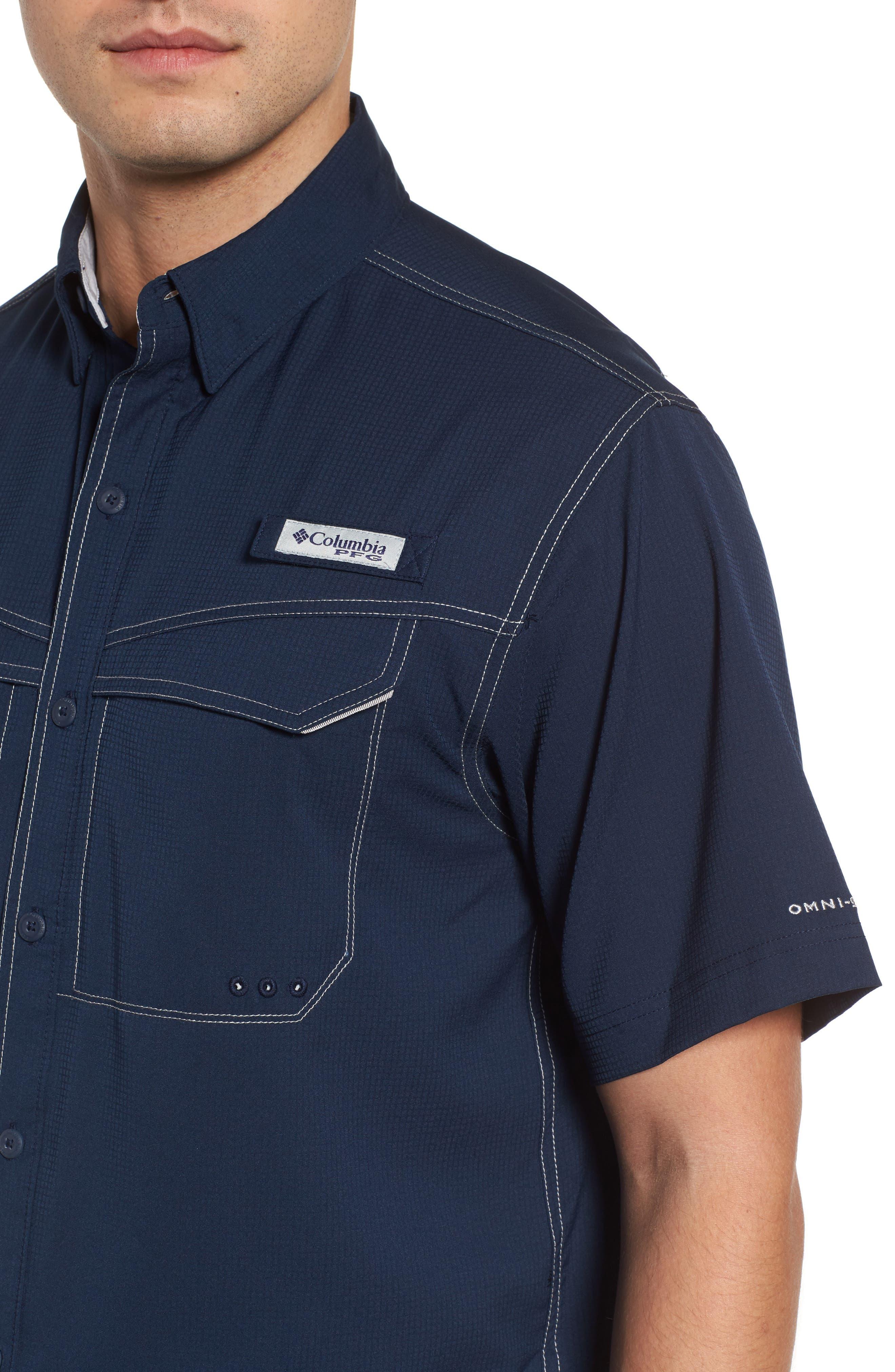 PFG Low Drag Offshore Woven Shirt,                             Alternate thumbnail 17, color,