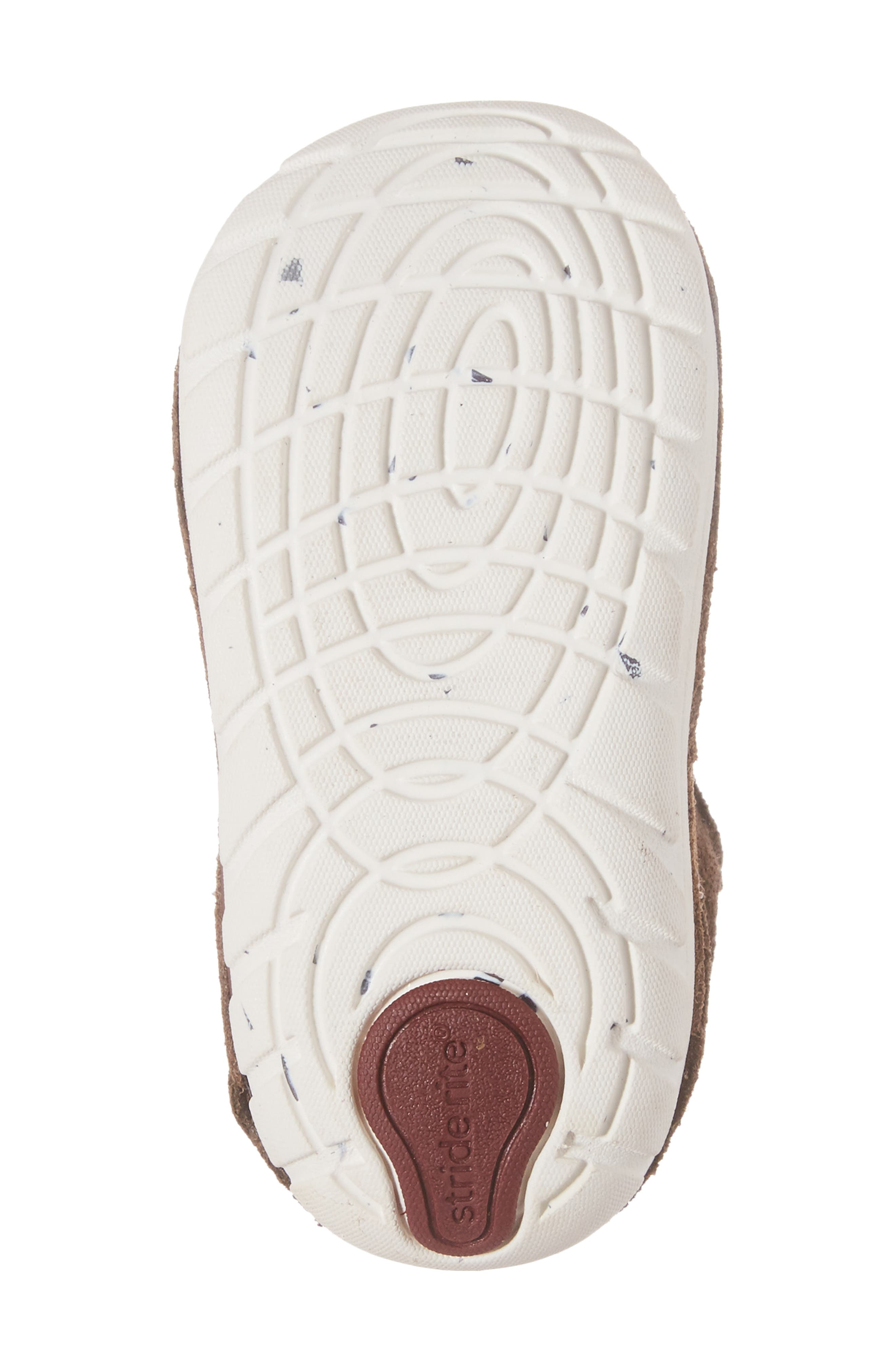 Soft Motion<sup>™</sup> Oliver High Top Sneaker,                             Alternate thumbnail 6, color,                             BROWN SUEDE