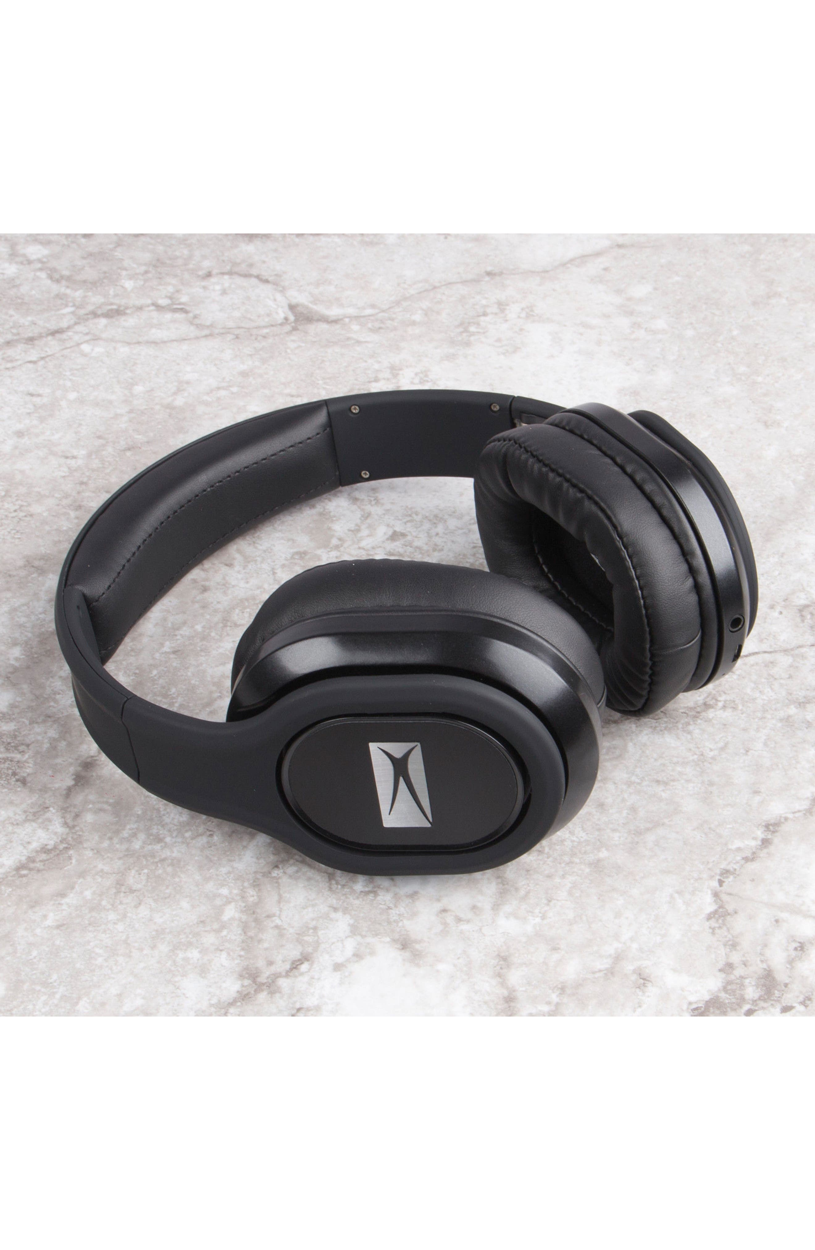Evolution 2 Wireless Headphones,                             Alternate thumbnail 4, color,                             BLACK