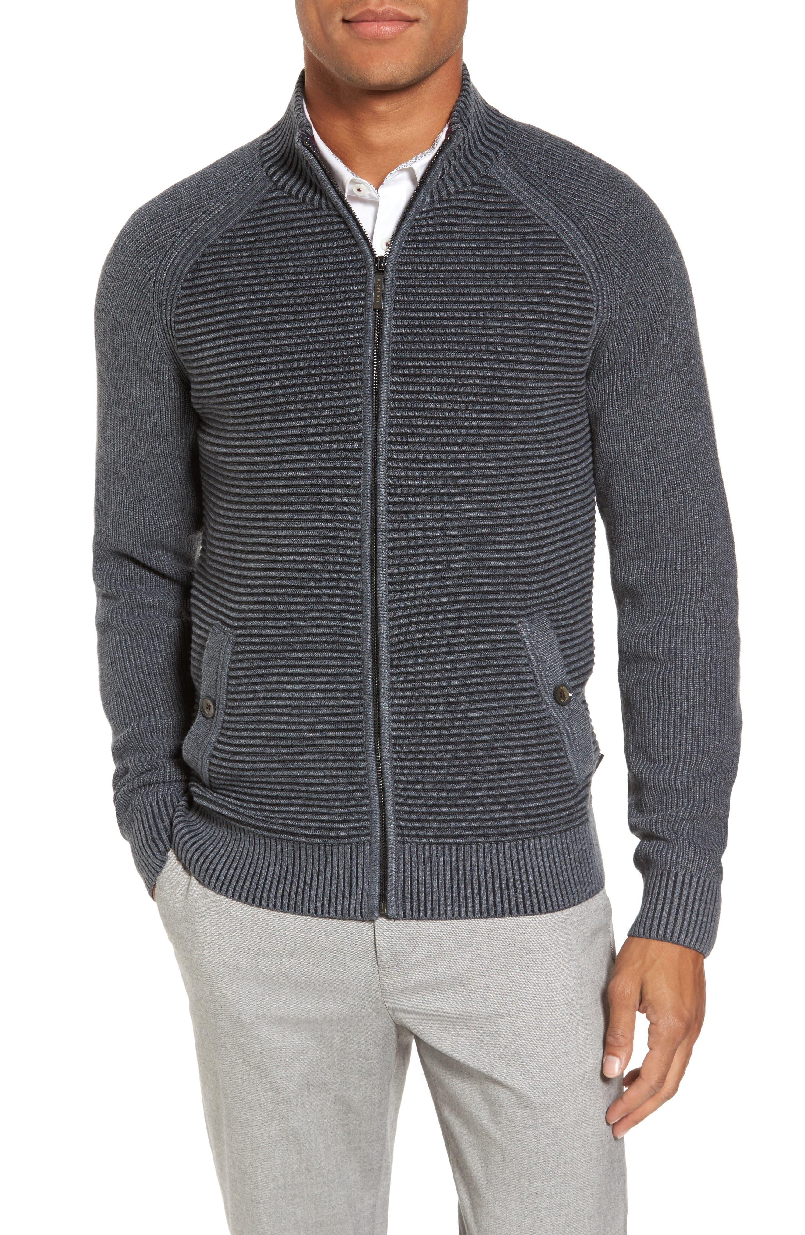 Modern Slim Fit Raglan Sweater,                         Main,                         color, 030