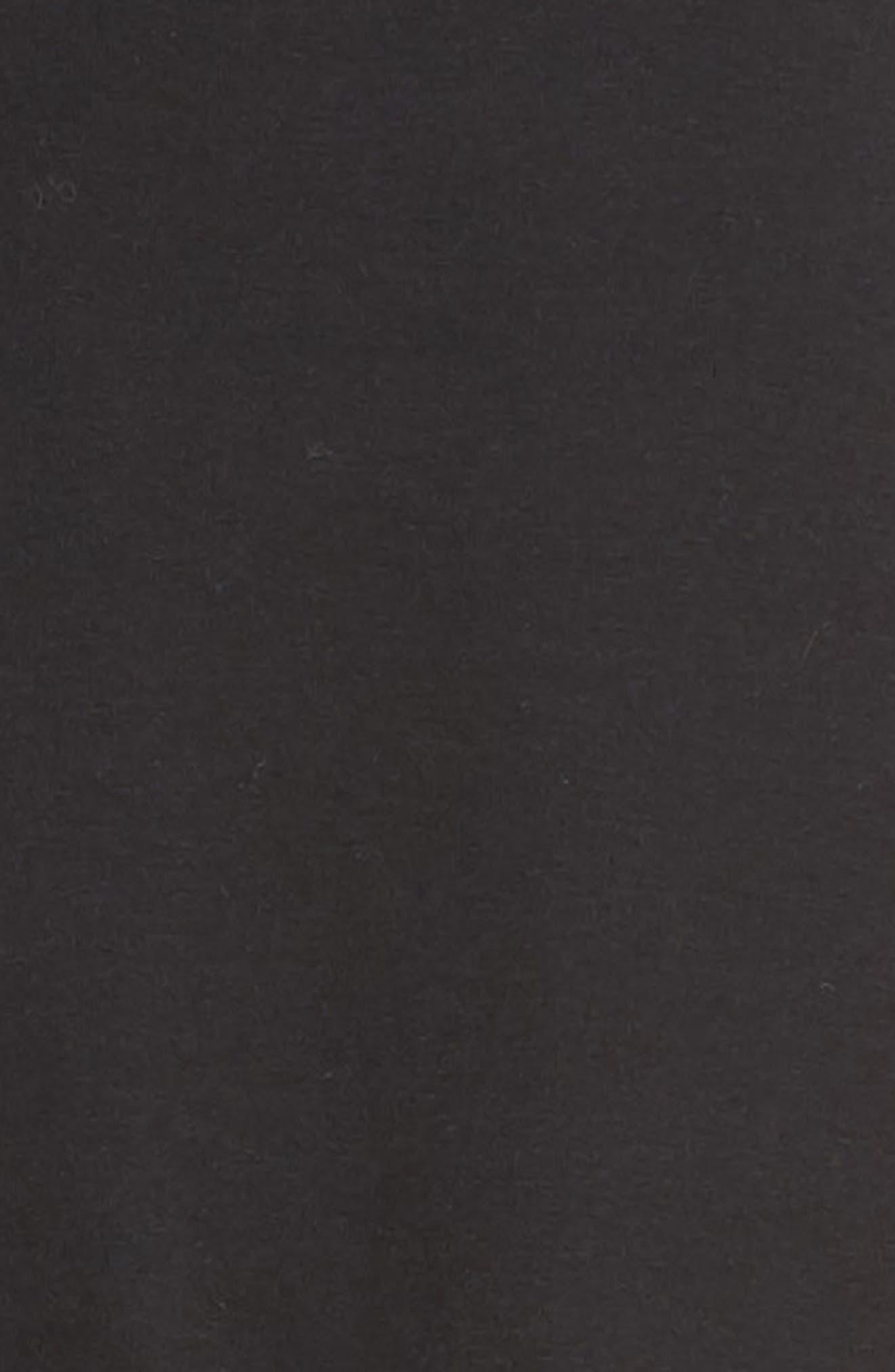 Ruffle Hem Skirt,                             Alternate thumbnail 5, color,                             001