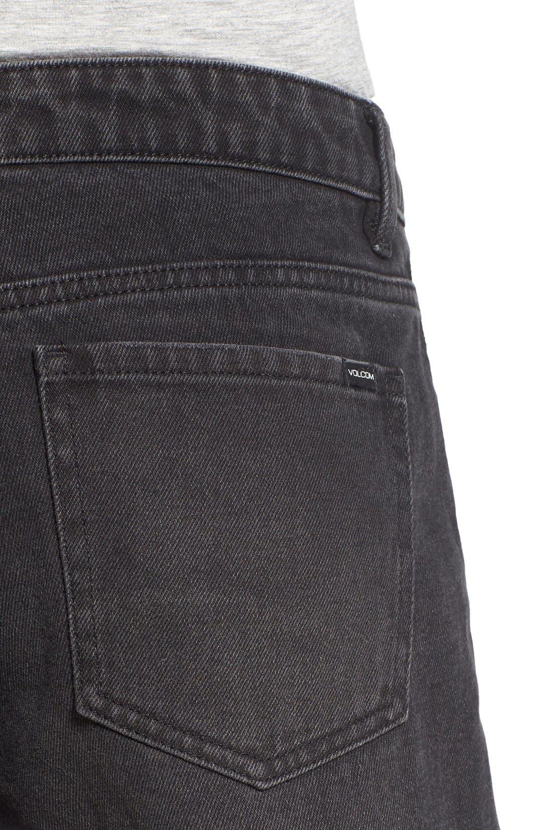 'Stoneshort 3' Denim Shorts,                             Alternate thumbnail 5, color,                             003