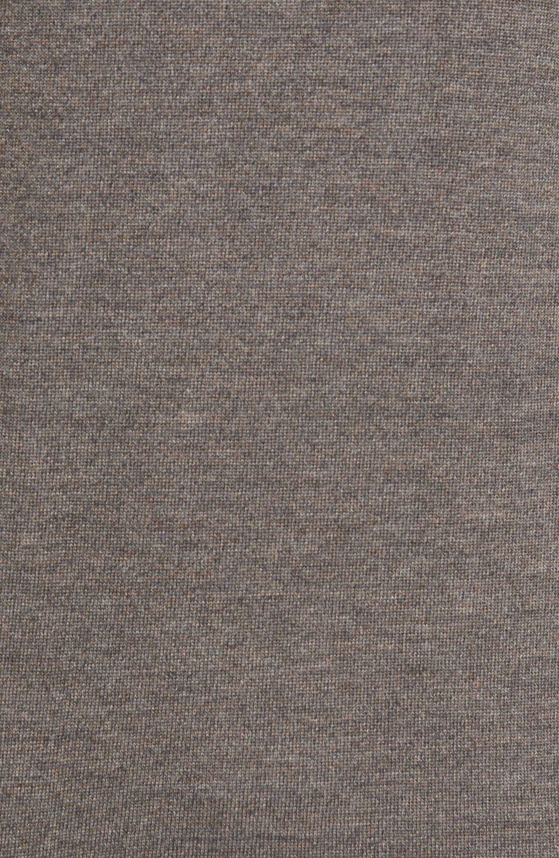 'Burwood Bay' Wool V-Neck Sweater,                             Alternate thumbnail 5, color,                             259