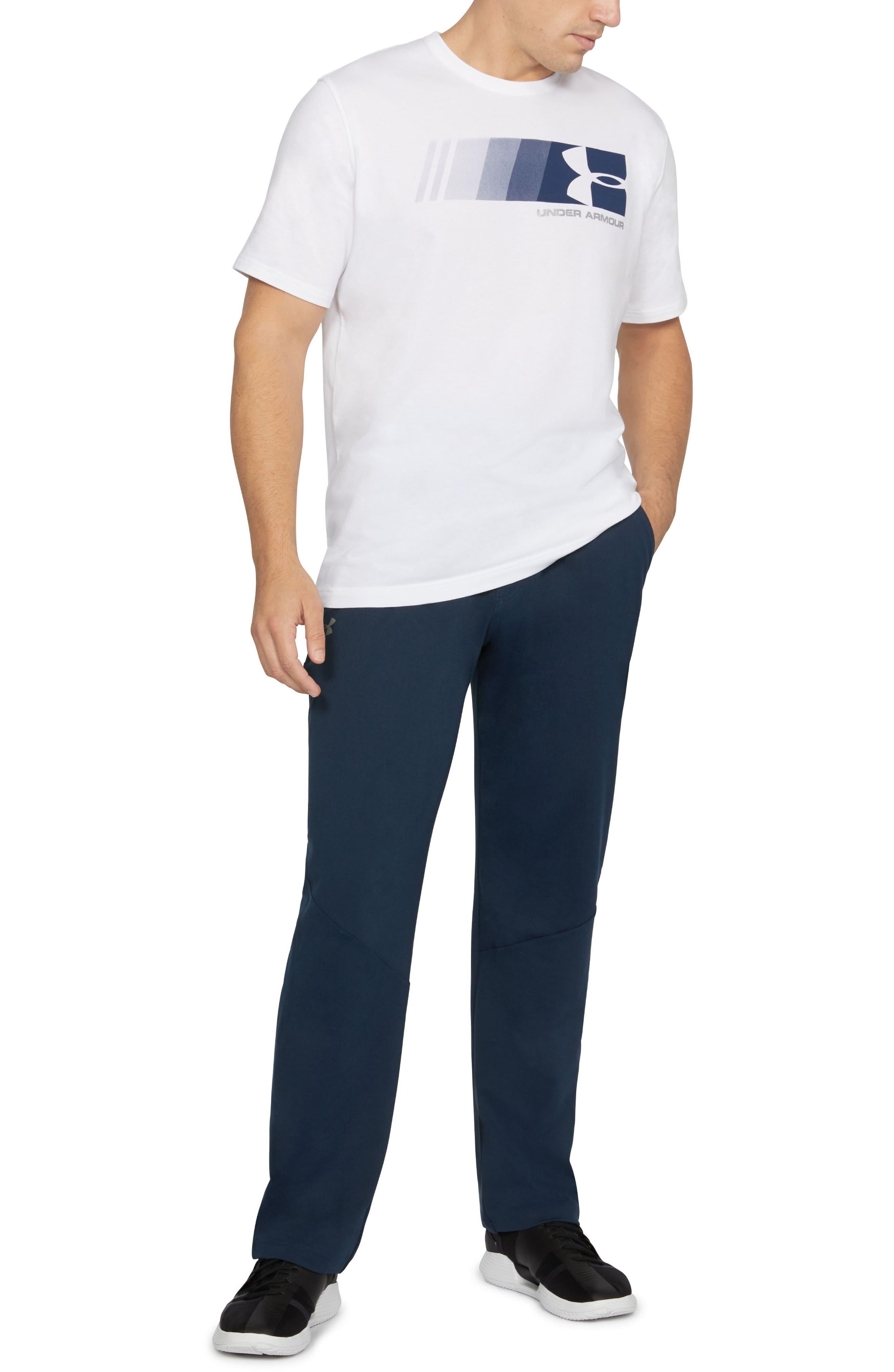 UNDER ARMOUR Regular Fit Knit Training Pants, Main, color, 408