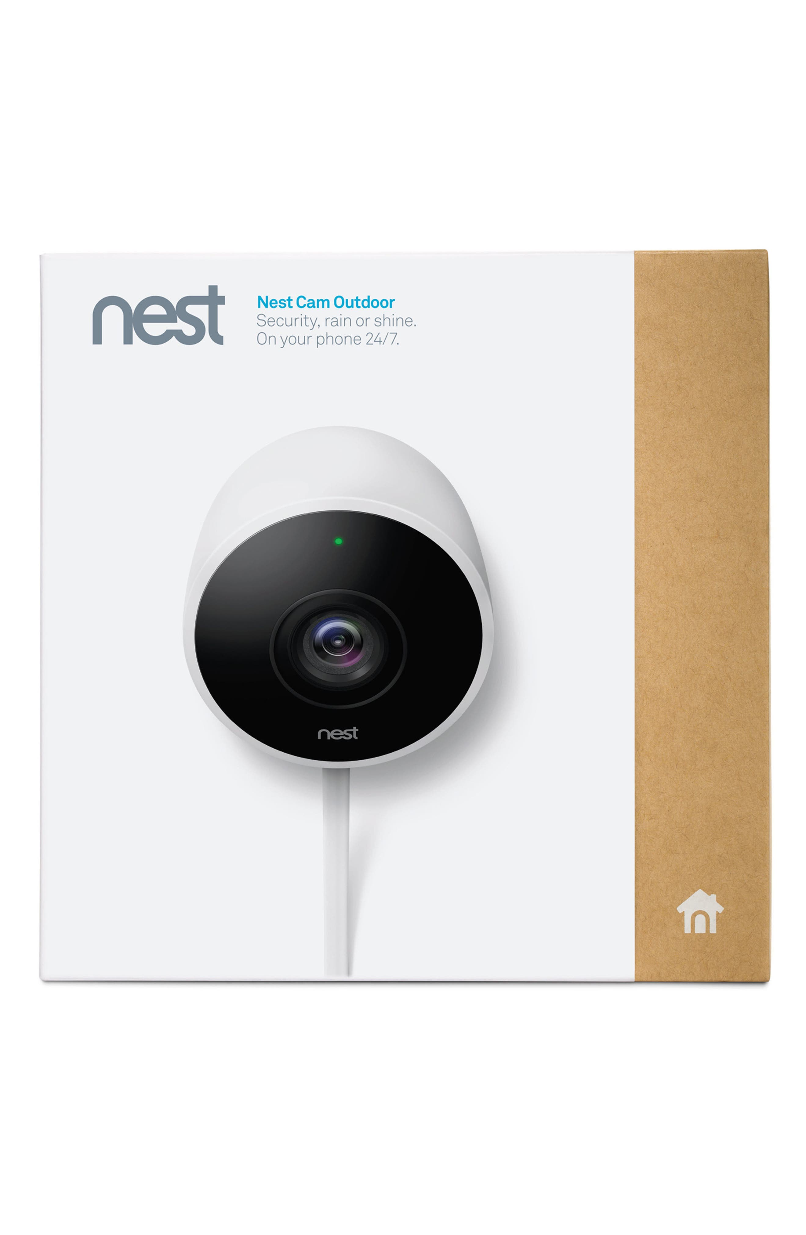 NEST,                             Outdoor Security Camera,                             Alternate thumbnail 3, color,                             100