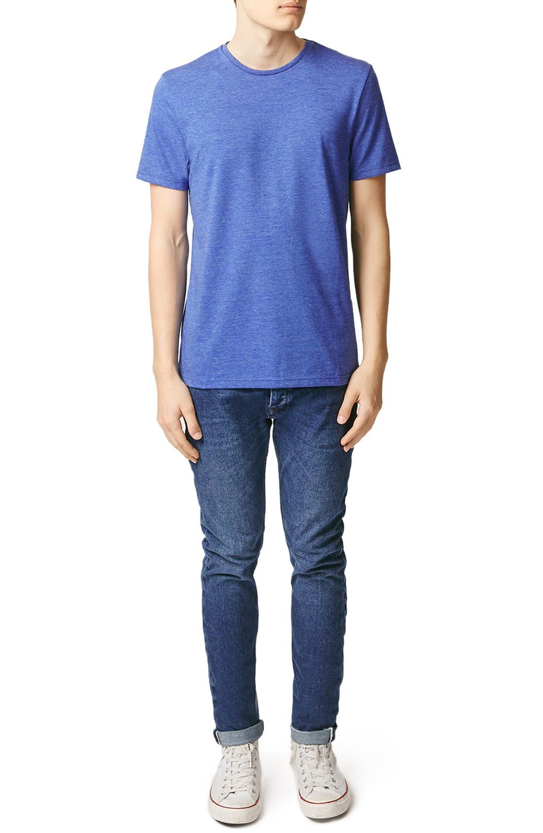 Slim Fit Crewneck T-Shirt,                             Alternate thumbnail 262, color,