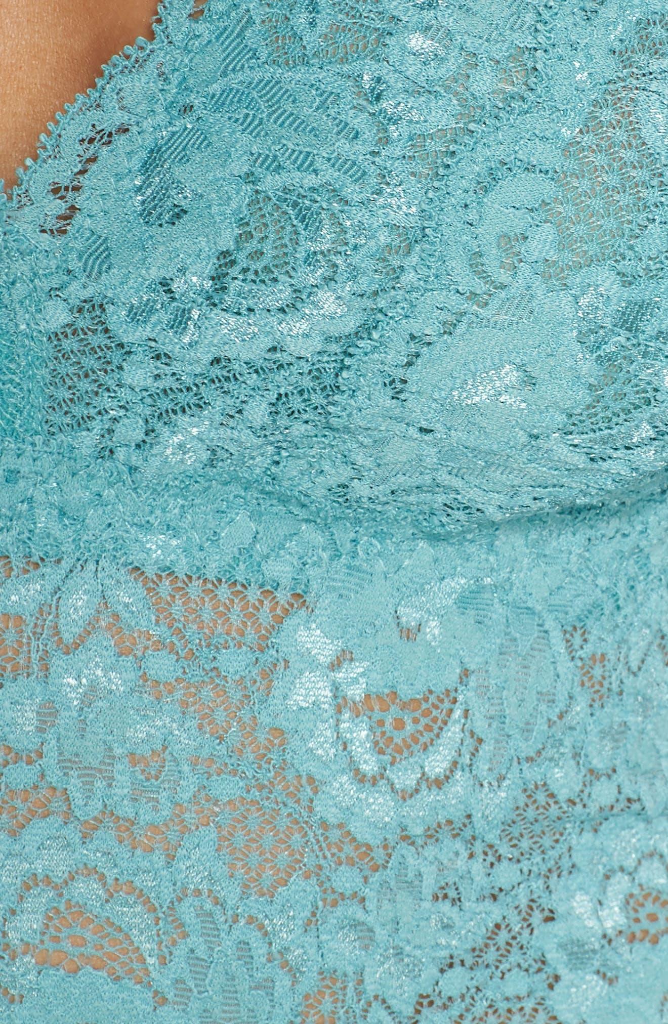 Plunging Lace Bralette,                             Alternate thumbnail 34, color,