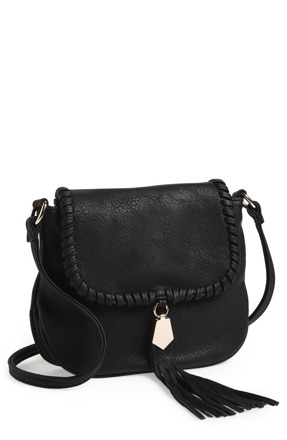 'Arlingtone' Crossbody Bag,                         Main,                         color, 001