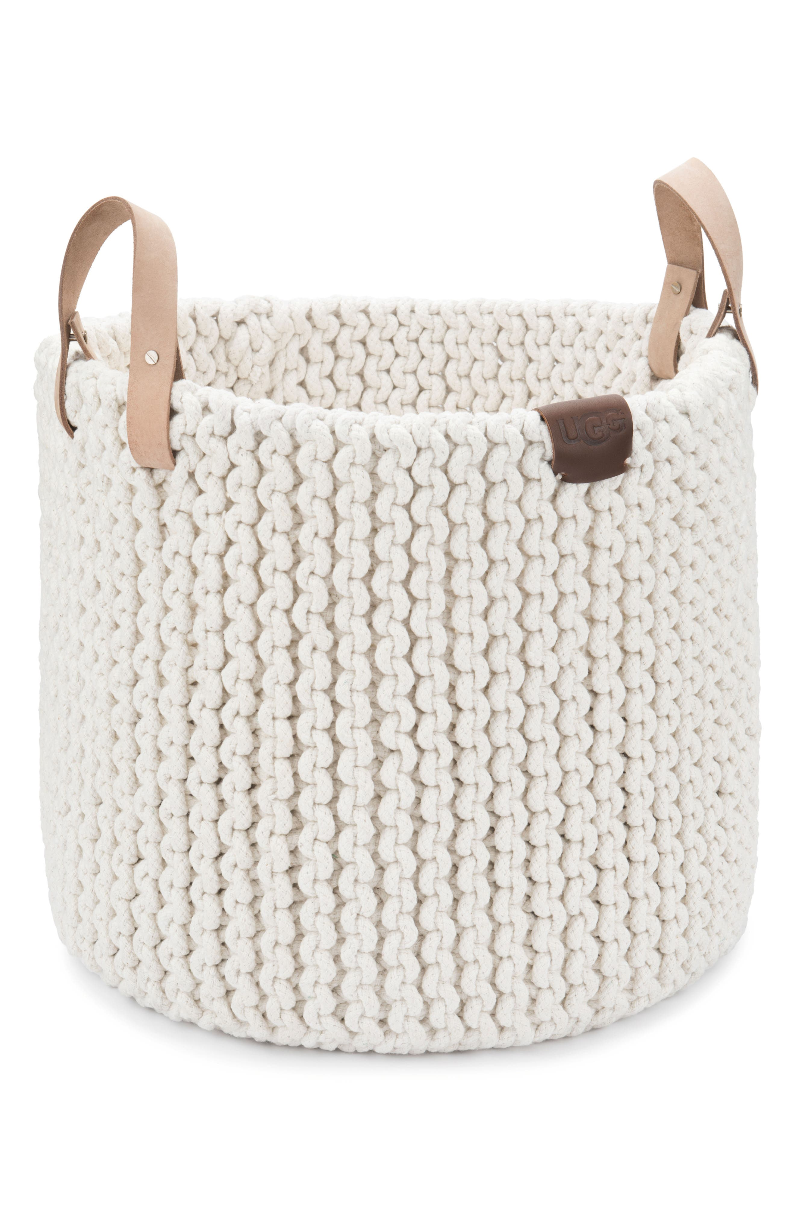 Tulum Rope Basket,                             Main thumbnail 1, color,                             NATURAL