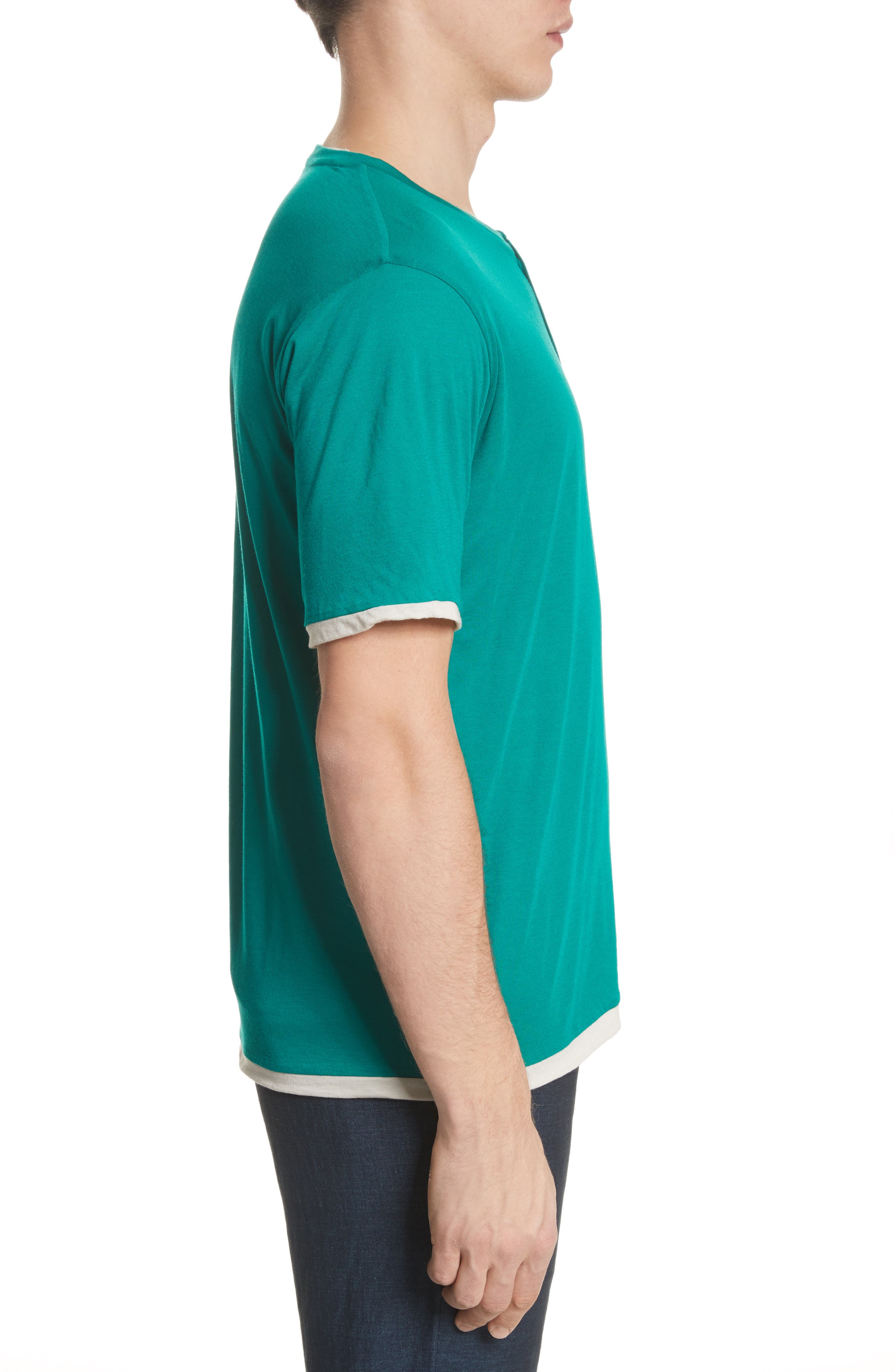 Henley T-Shirt,                             Alternate thumbnail 3, color,                             300