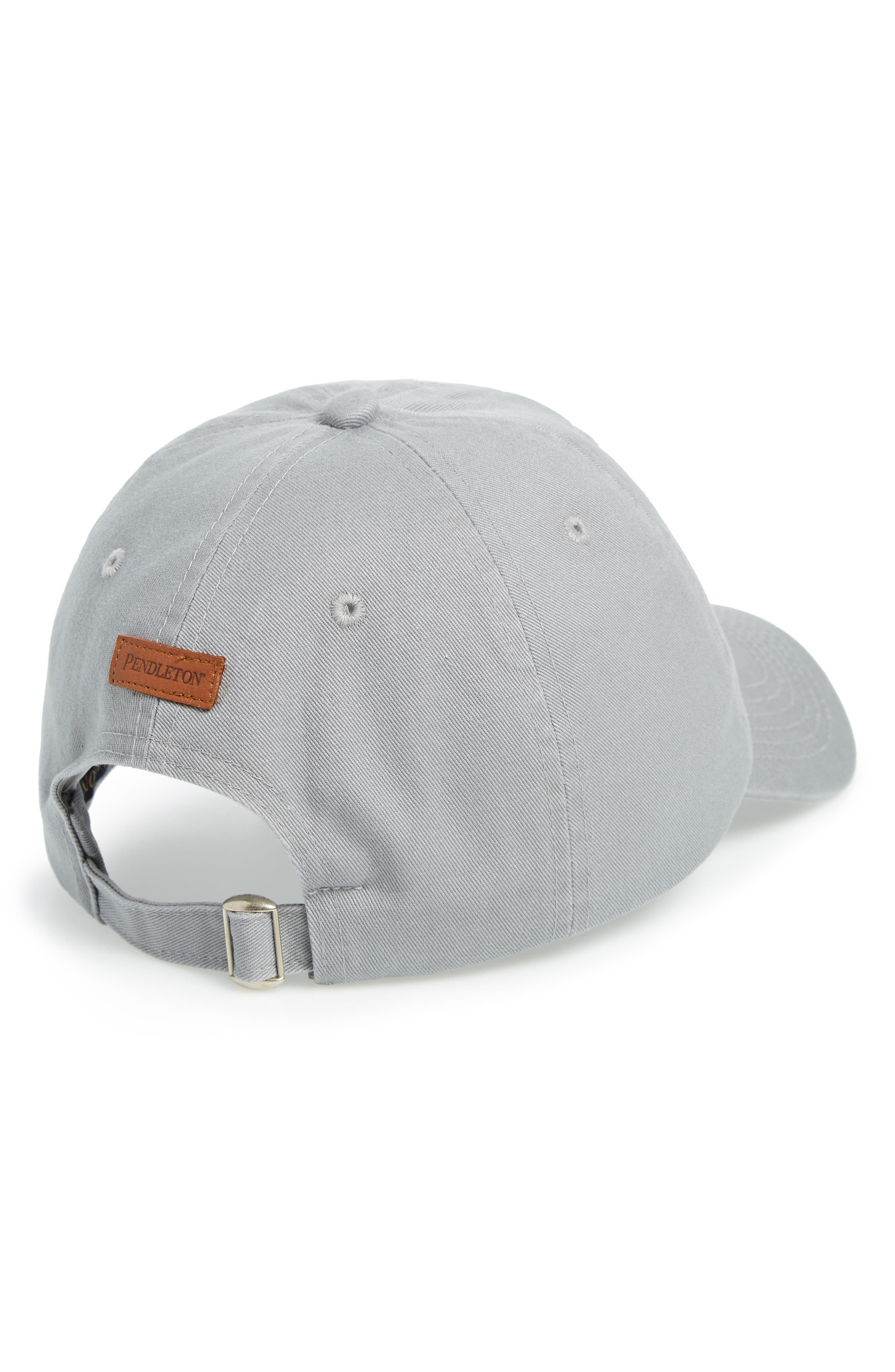 Chief Joseph Embroidered Cap,                             Alternate thumbnail 2, color,                             LIGHT GREY