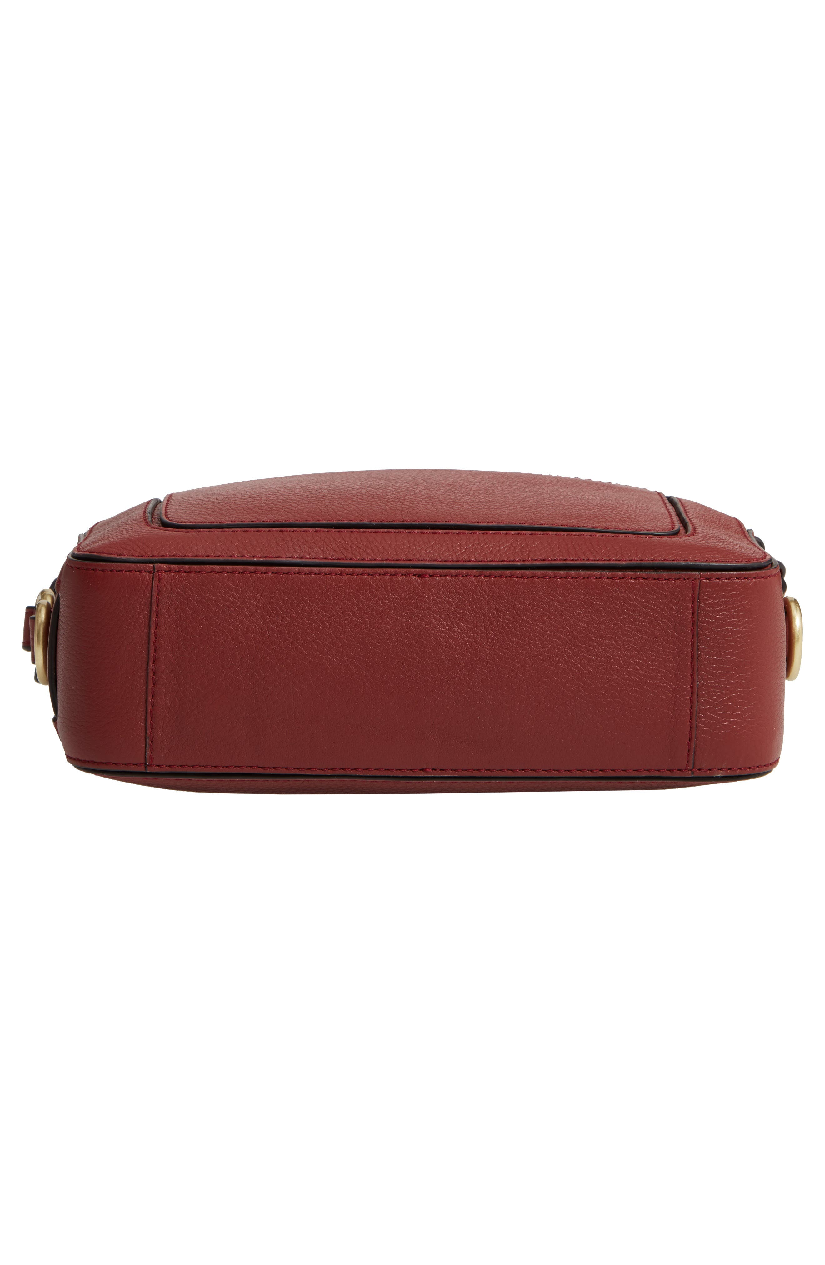 Cassidy RFID Pebbled Leather Camera Bag,                             Alternate thumbnail 22, color,