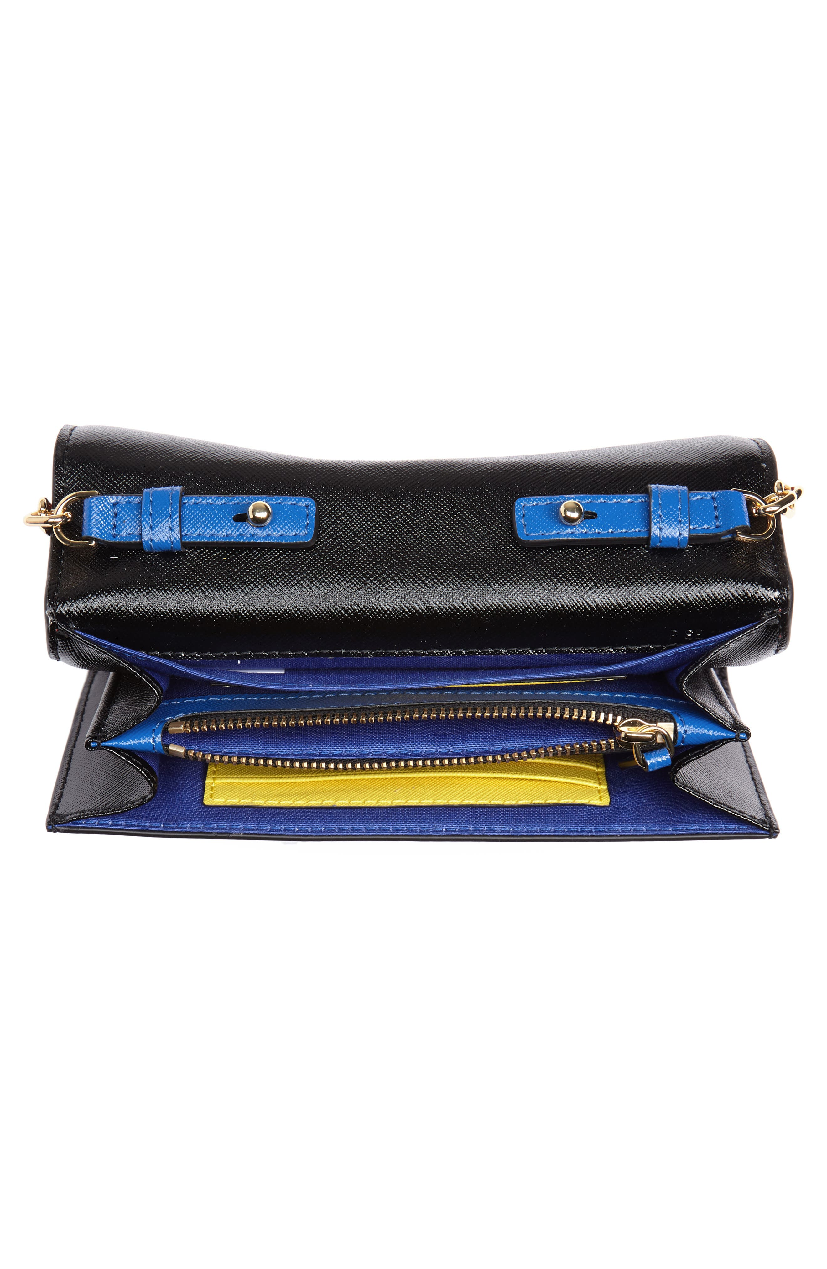 Snapshot Leather Wallet on a Chain,                             Alternate thumbnail 41, color,