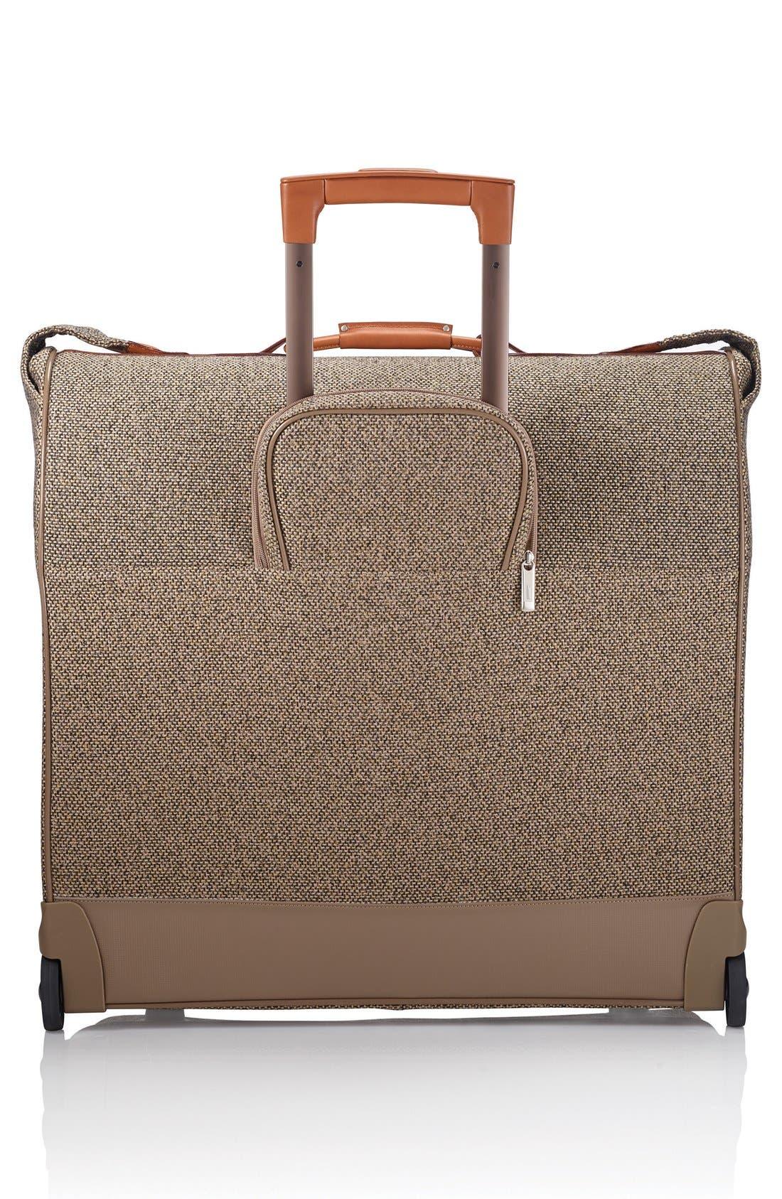 'Tweed Belting' Wheeled Garment Bag,                             Alternate thumbnail 3, color,                             217