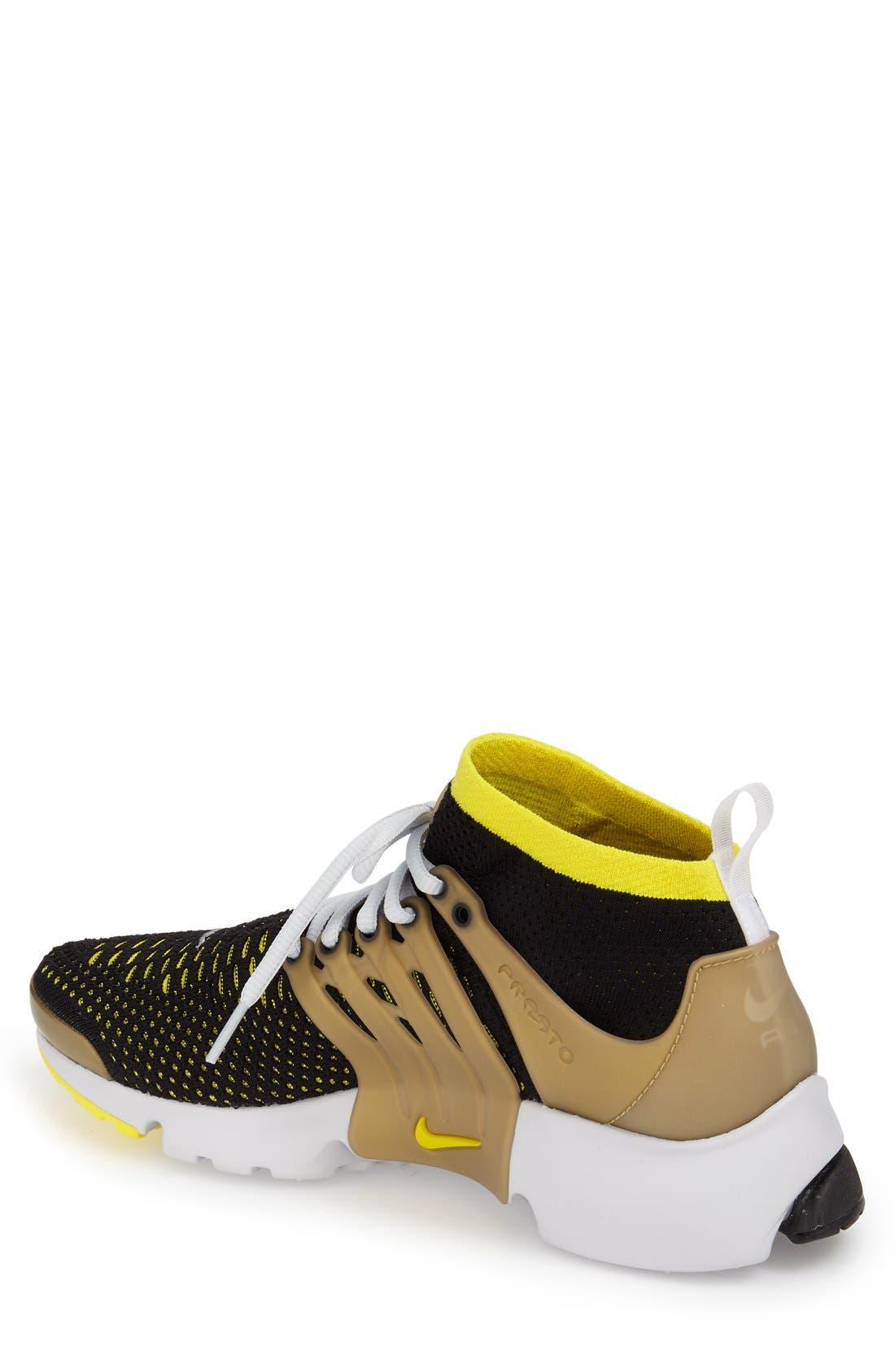 'Air Presto Flyknit Ultra' Sneaker,                             Alternate thumbnail 2, color,                             007