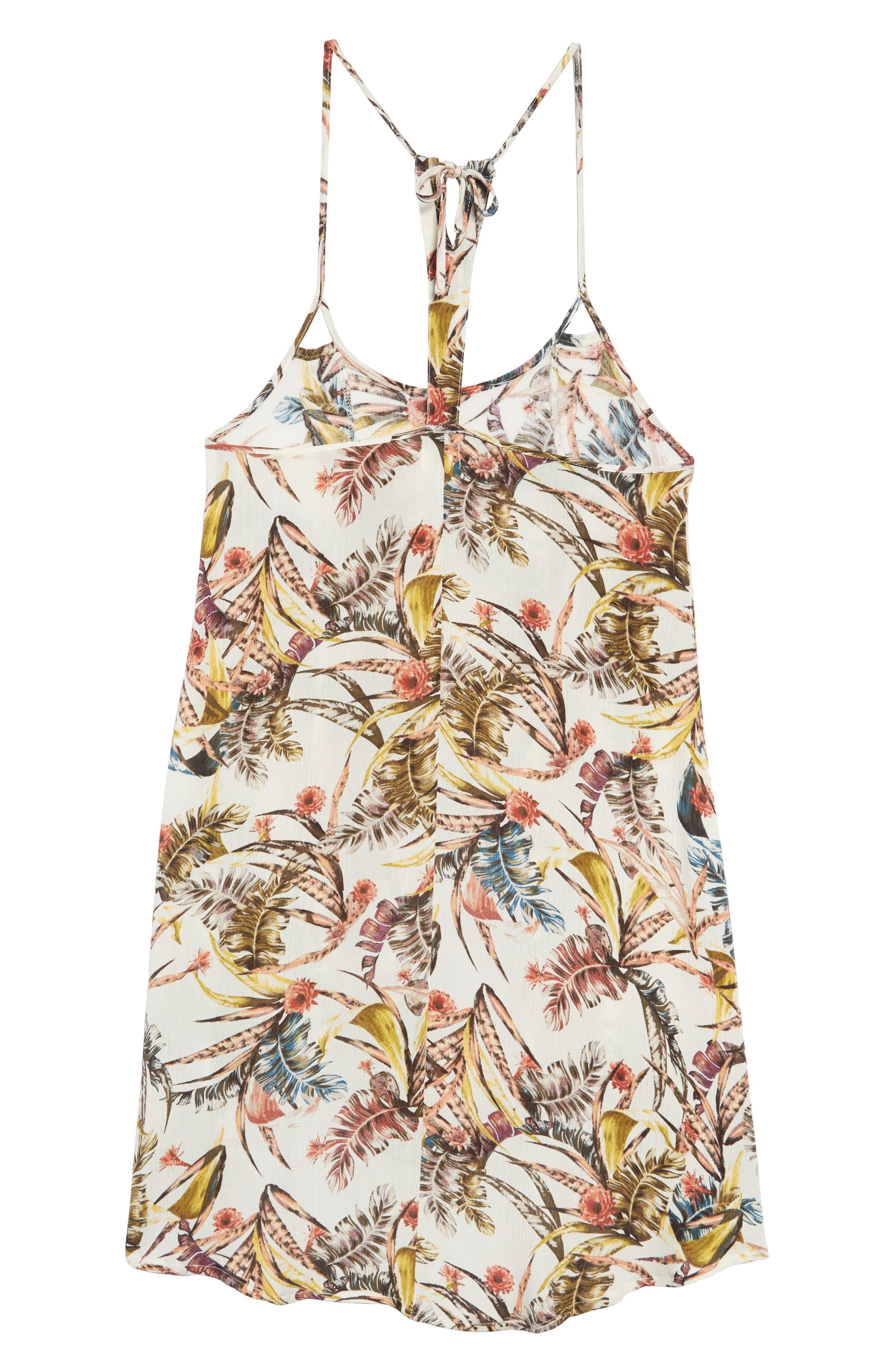 Dreamer Tropical Print Dress,                             Alternate thumbnail 2, color,                             250