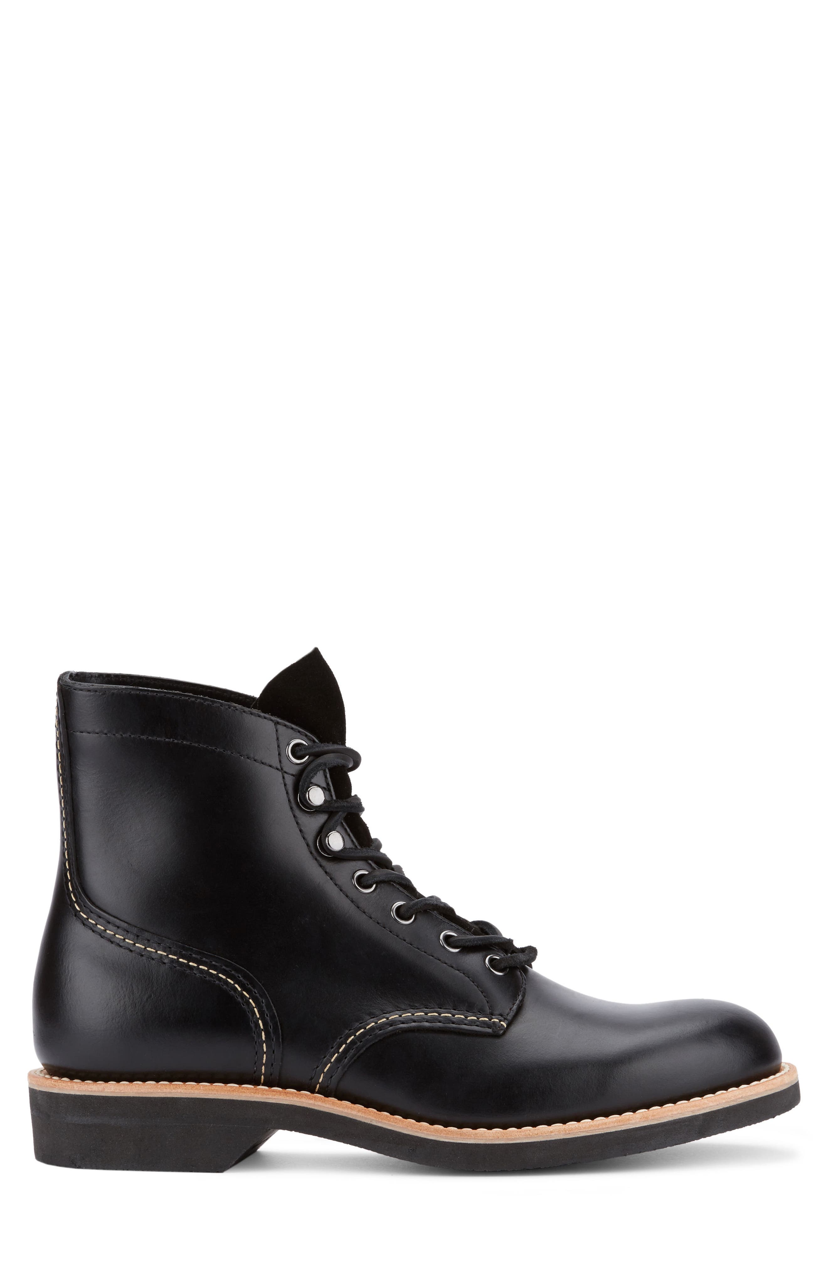Reid Plain Toe Boot,                             Alternate thumbnail 5, color,