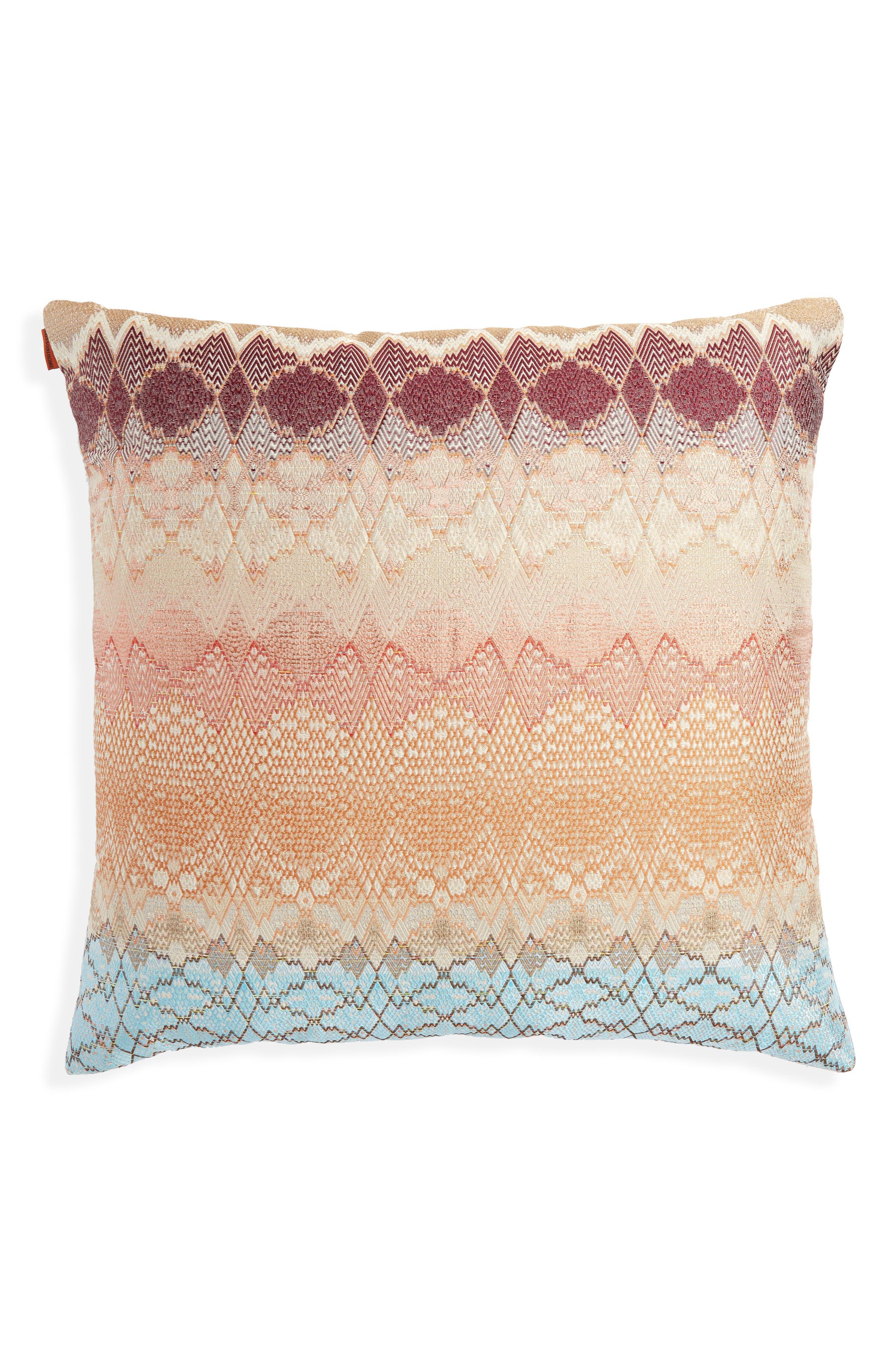 MISSONI,                             Tbilissi Accent Pillow,                             Main thumbnail 1, color,                             800