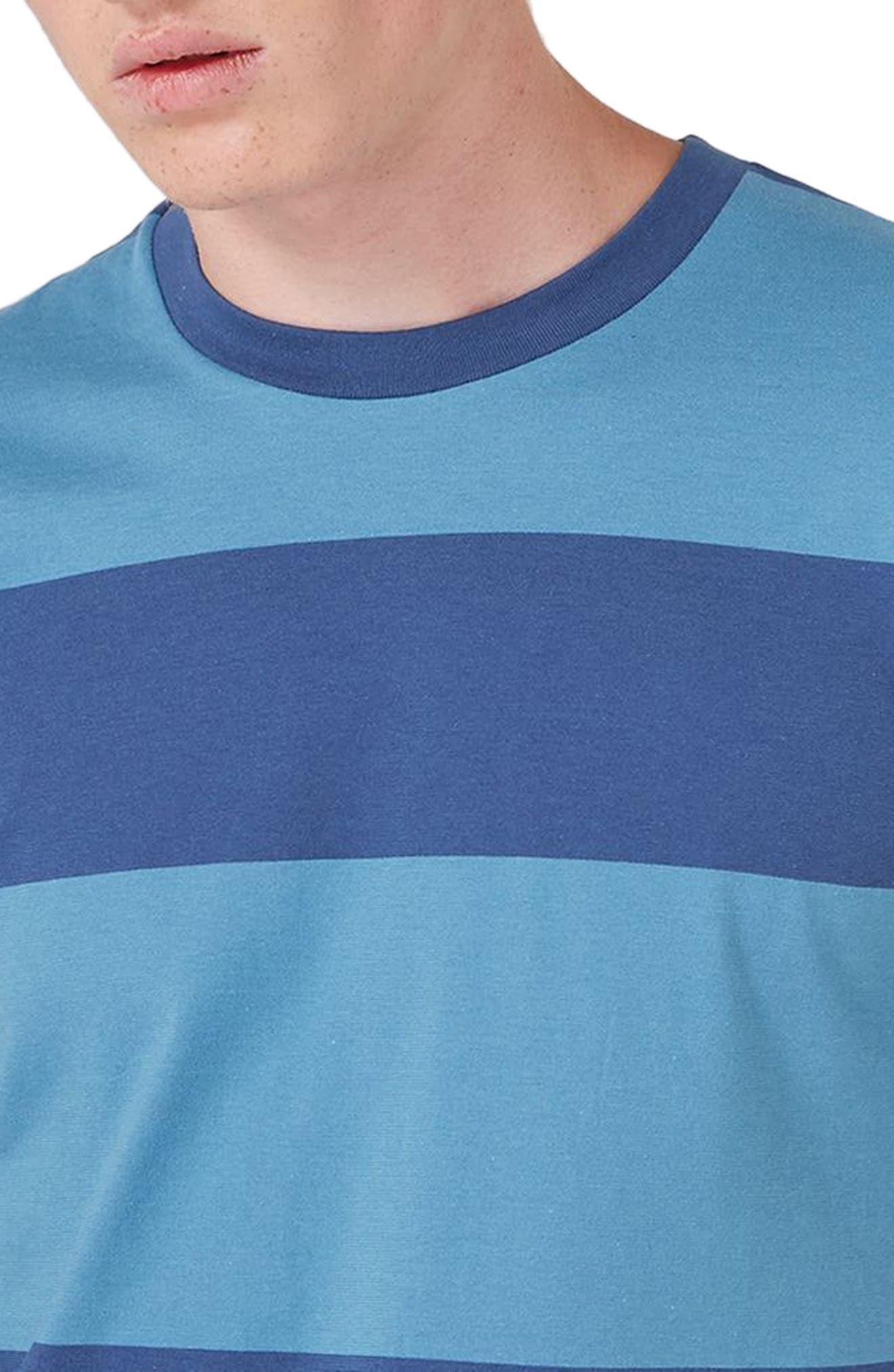 Stripe T-Shirt,                             Alternate thumbnail 3, color,                             401