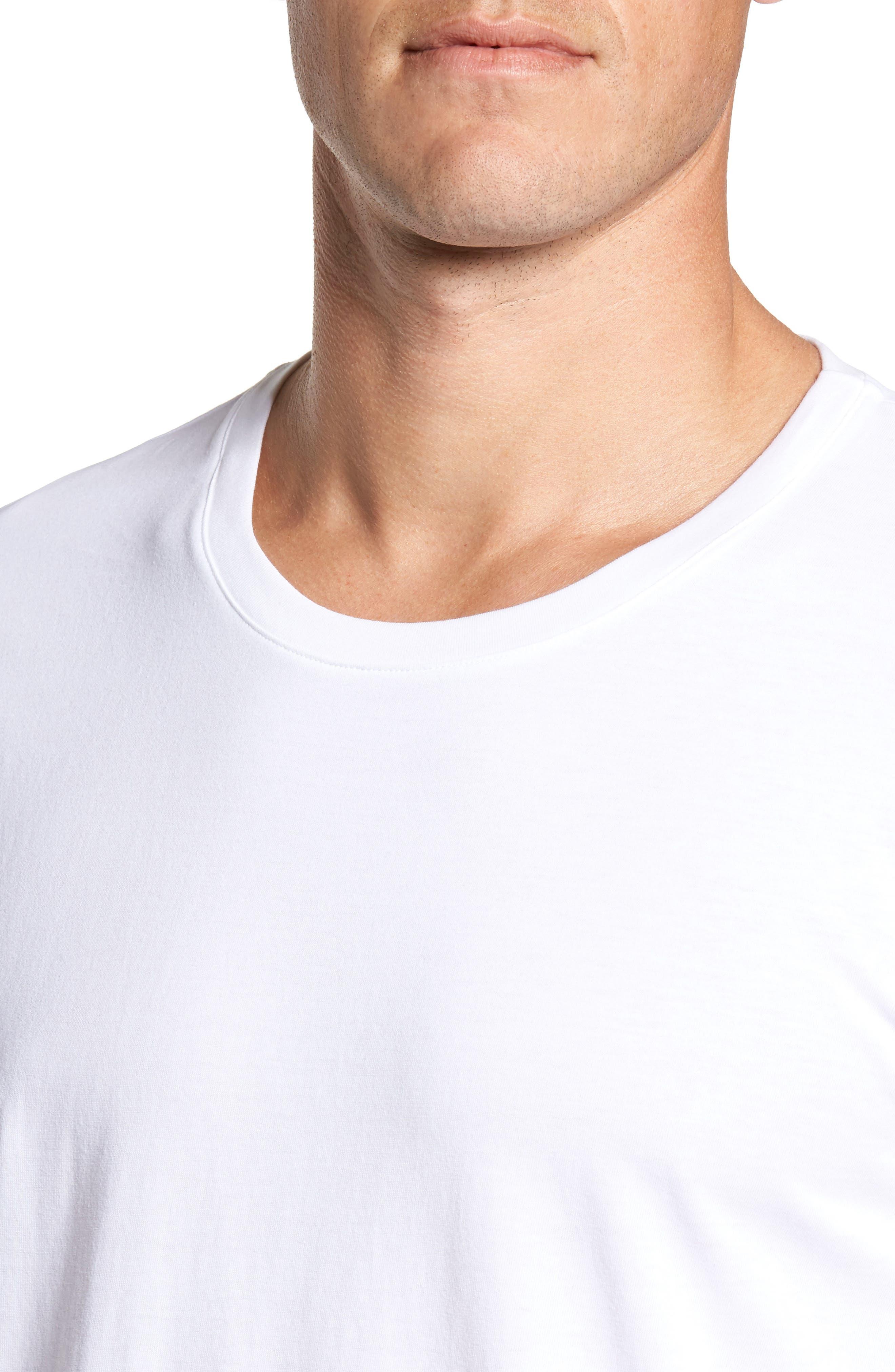 Living Long Sleeve T-Shirt,                             Alternate thumbnail 4, color,                             WHITE