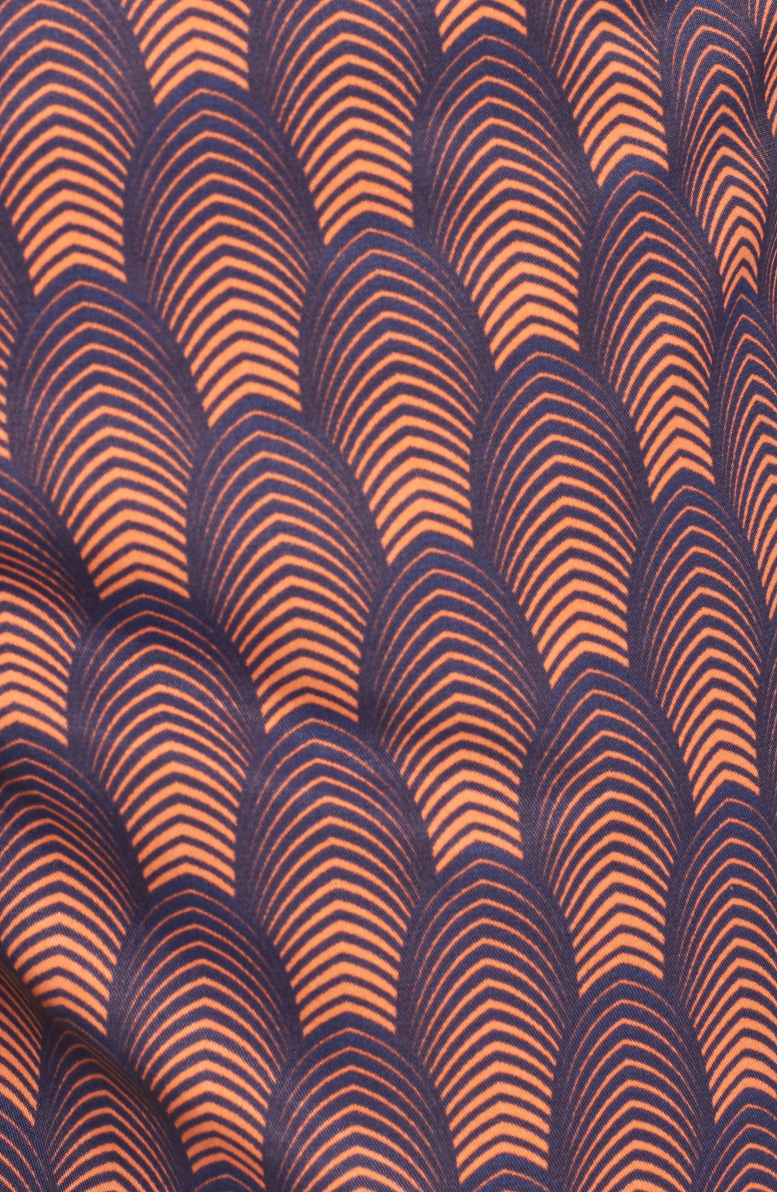 Mr. Swim Deco Print Swim Trunks,                             Alternate thumbnail 8, color,