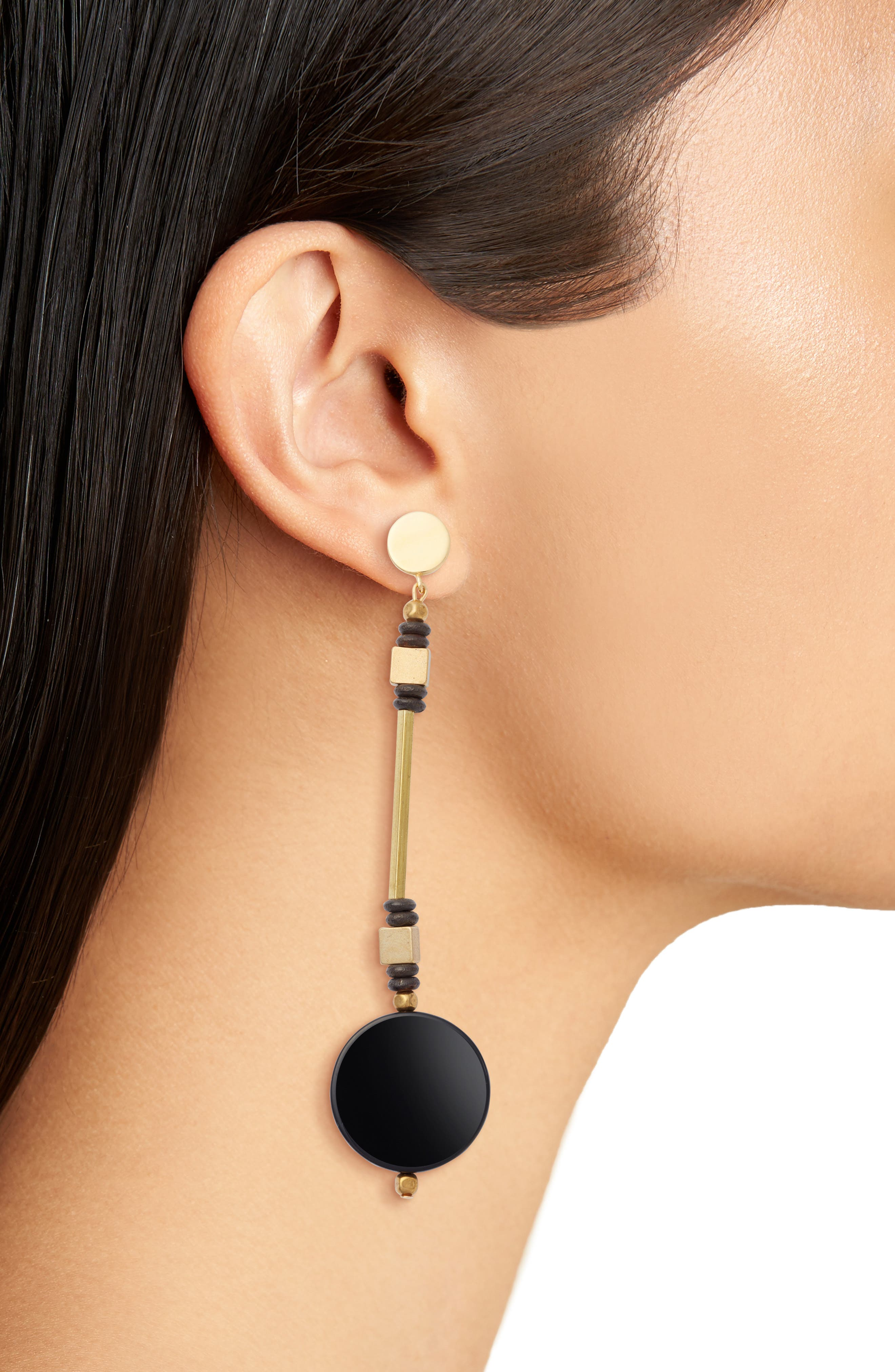 Coco Drop Earrings,                             Alternate thumbnail 2, color,