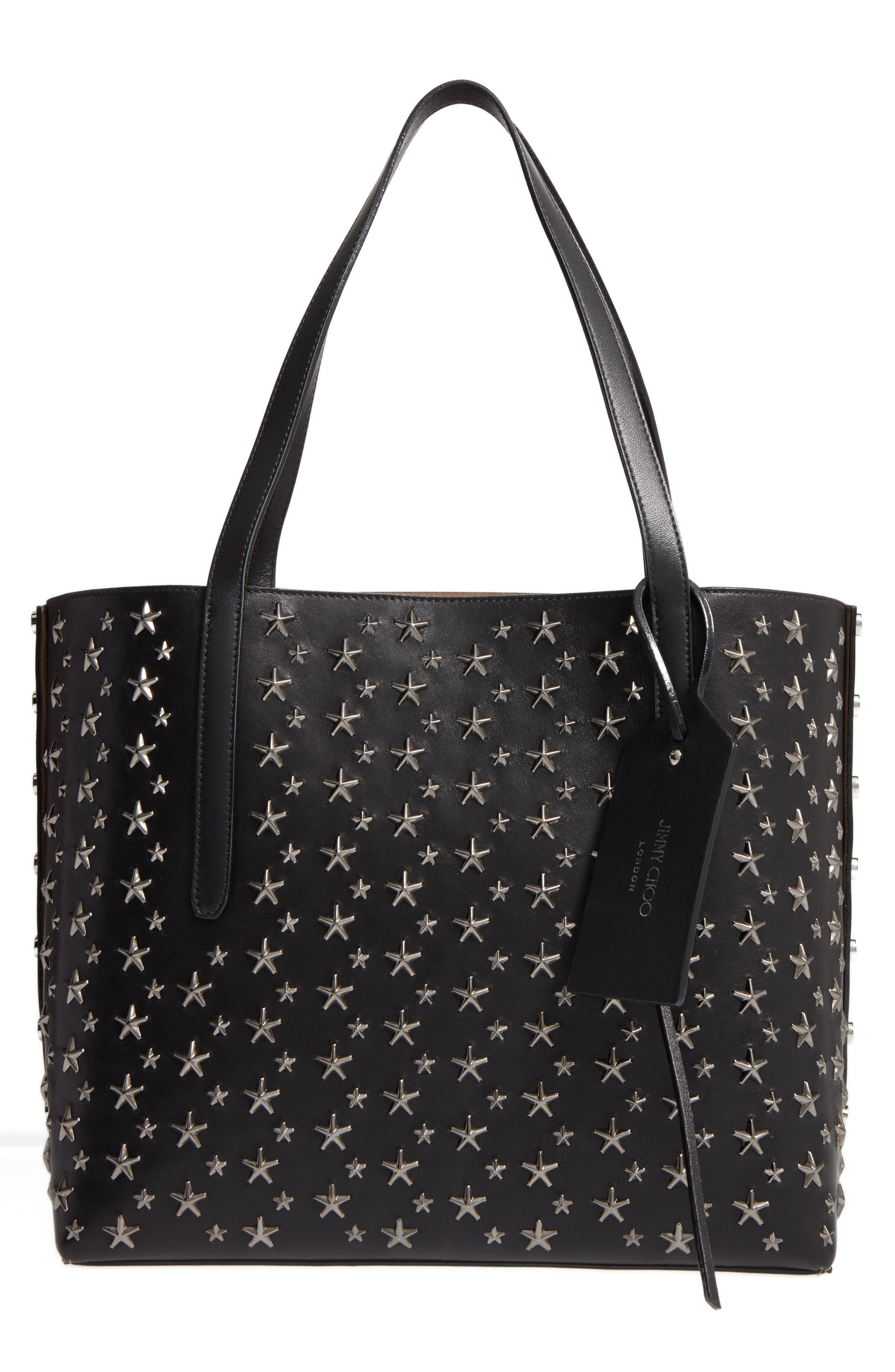 Twist East West Leather Tote,                         Main,                         color, 005