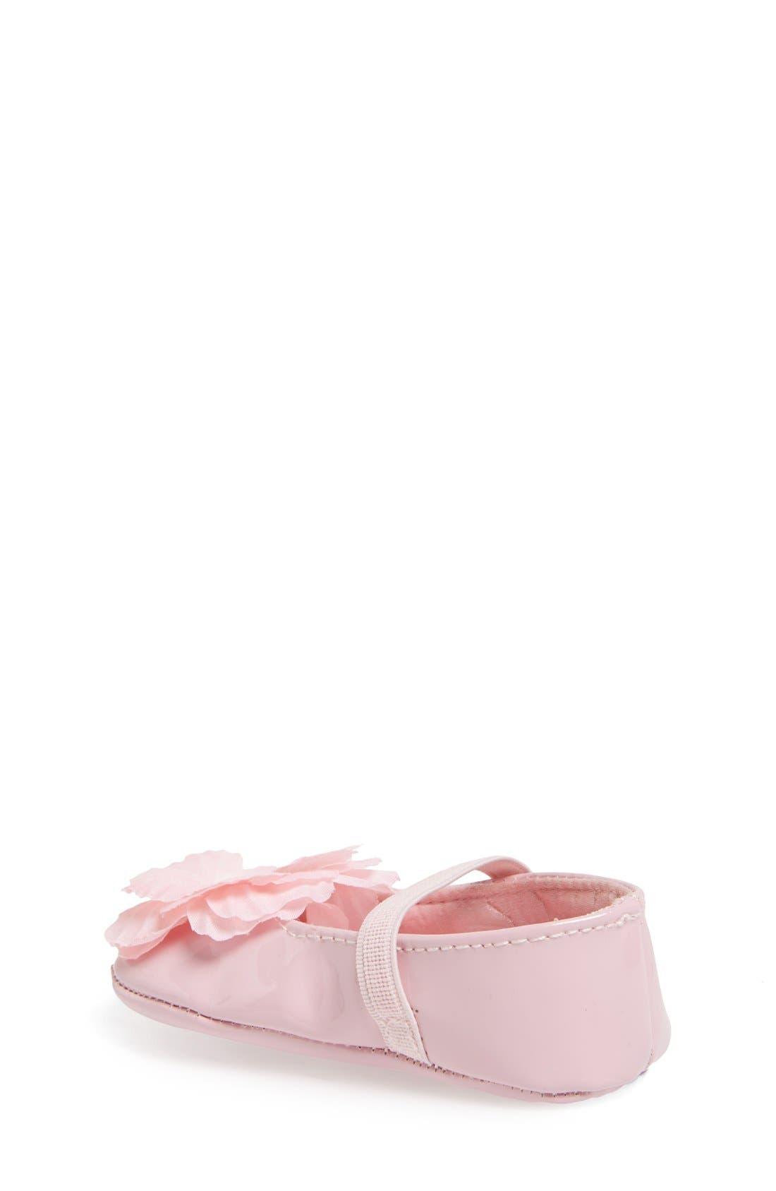 'Baby Bud' Crib Shoe,                             Alternate thumbnail 8, color,