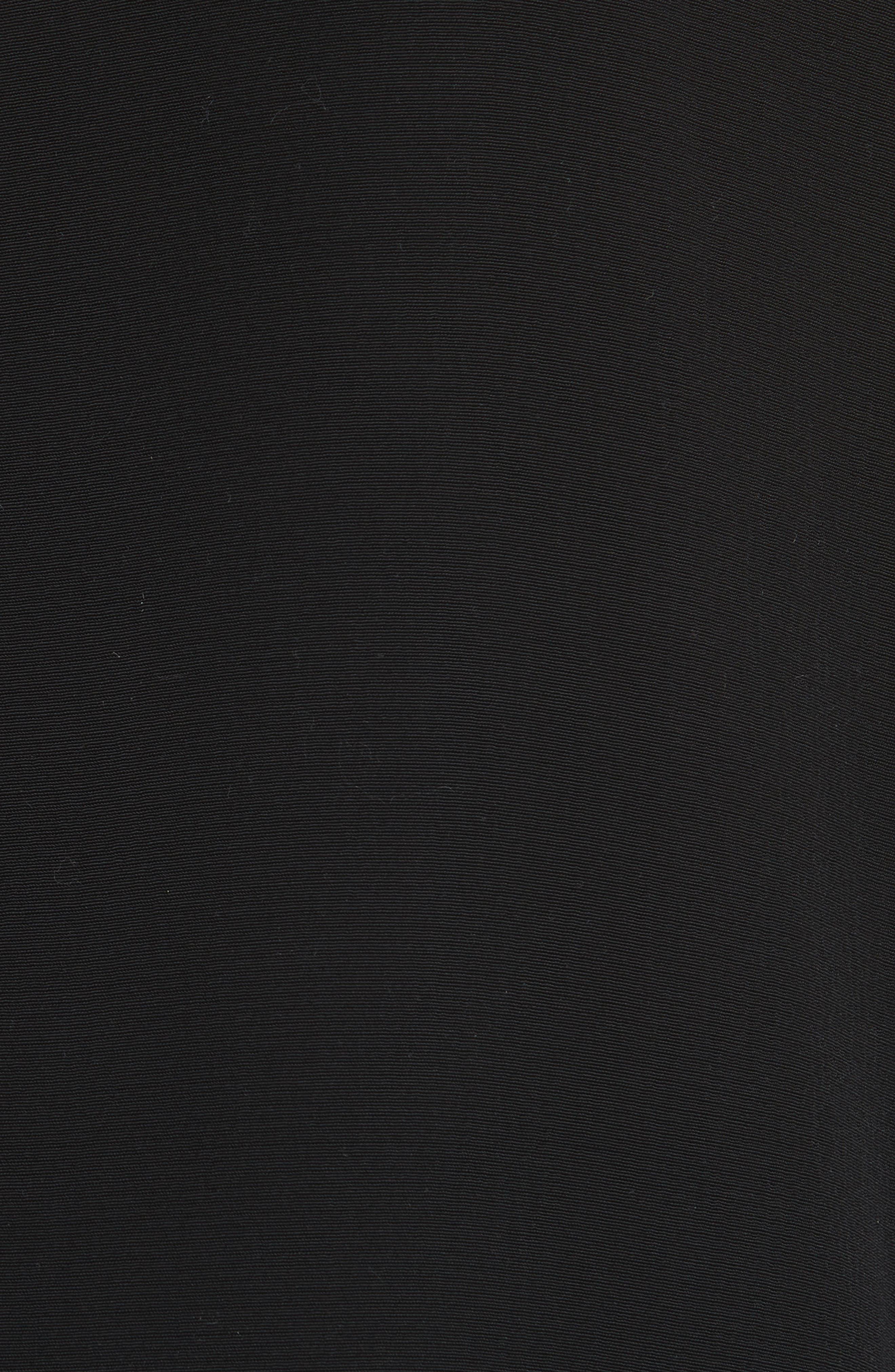Long Notch Collar Jacket,                             Alternate thumbnail 6, color,                             001