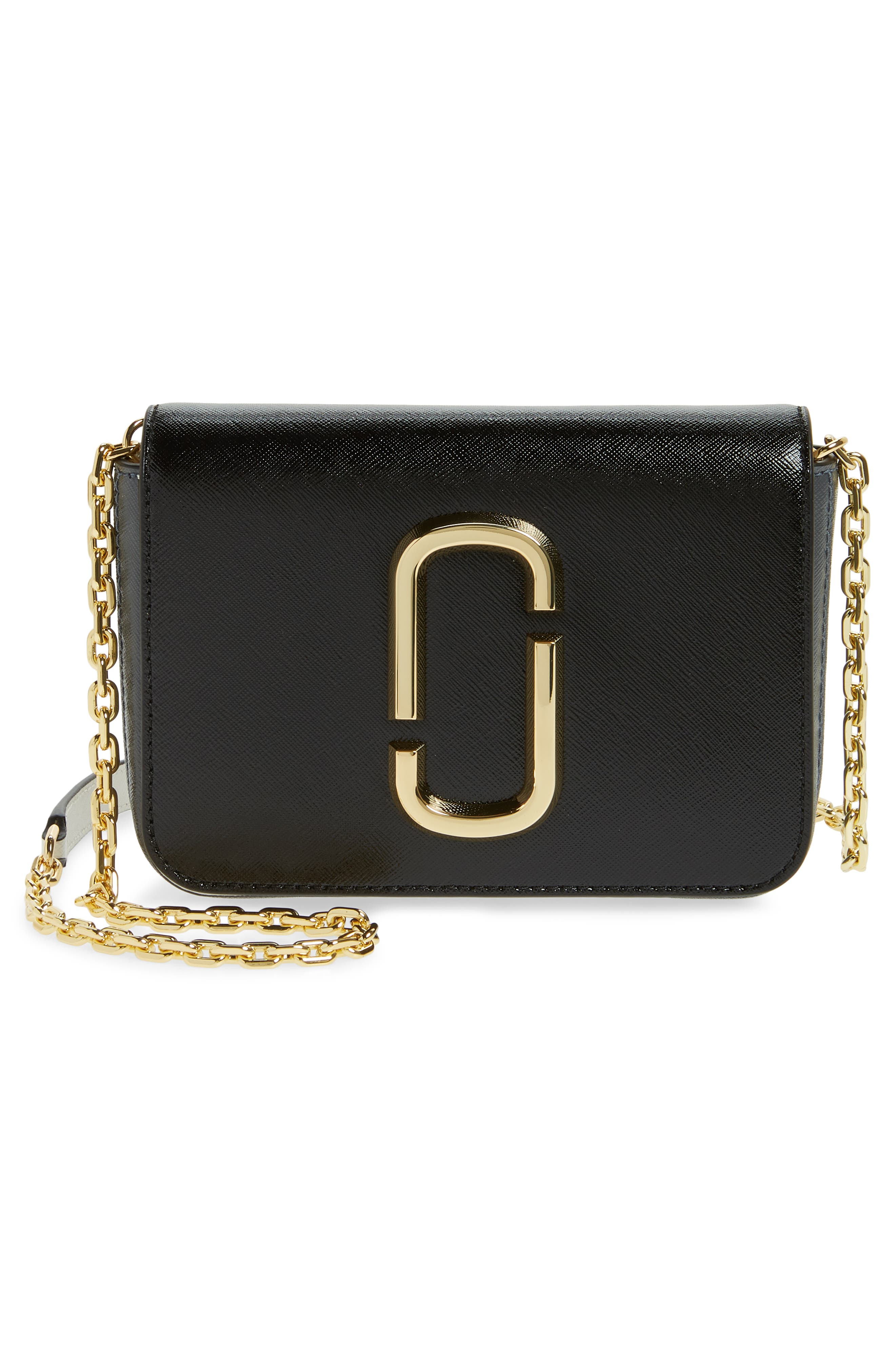 Hip Shot Convertible Leather Belt Bag,                             Alternate thumbnail 5, color,                             BLACK MULTI