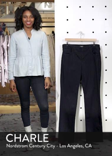 Marilyn High Rise Straight Leg Jeans, sales video thumbnail
