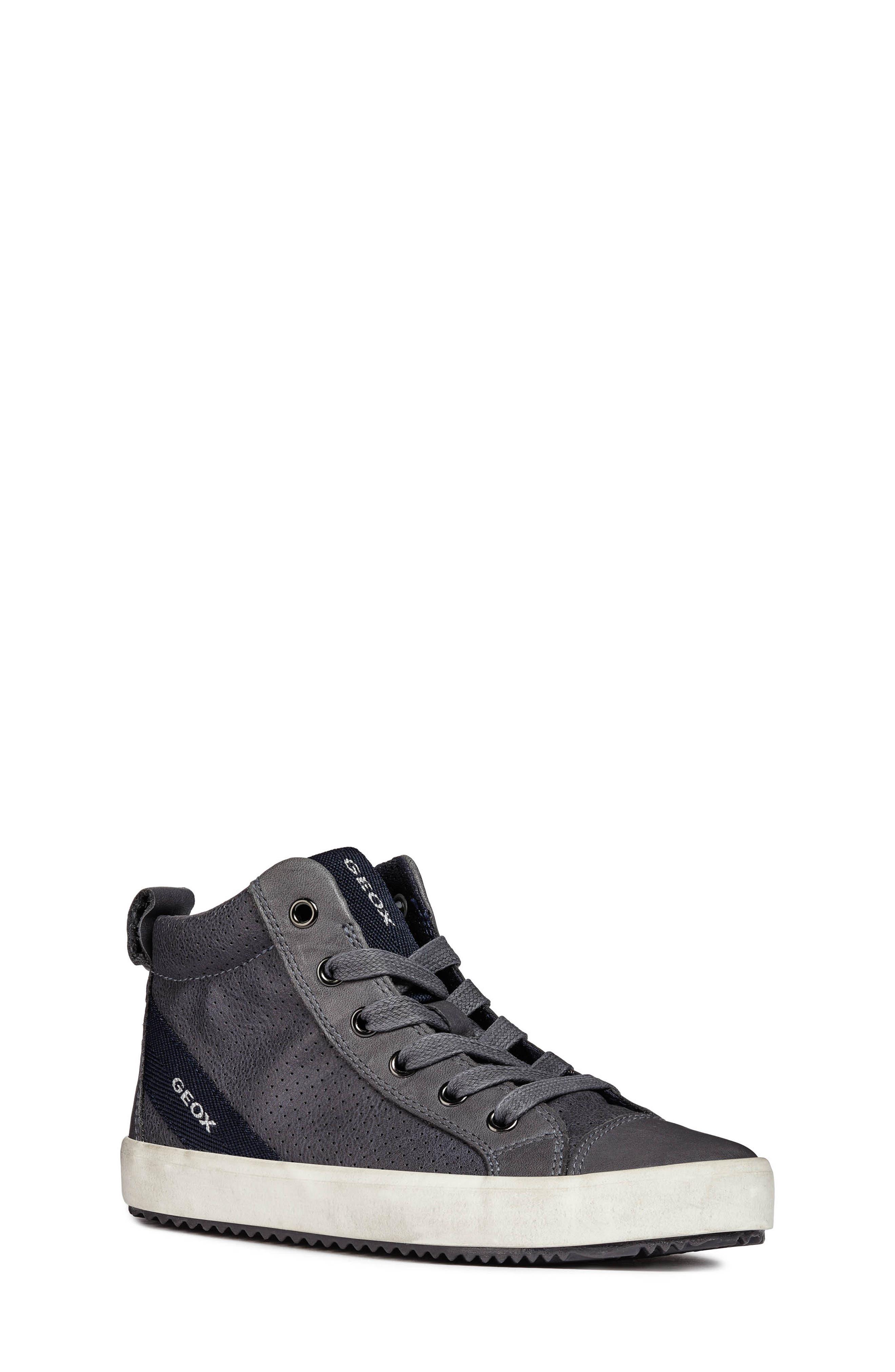 Alonisso High-Top Sneaker,                             Main thumbnail 1, color,                             GREY/DARK GREY