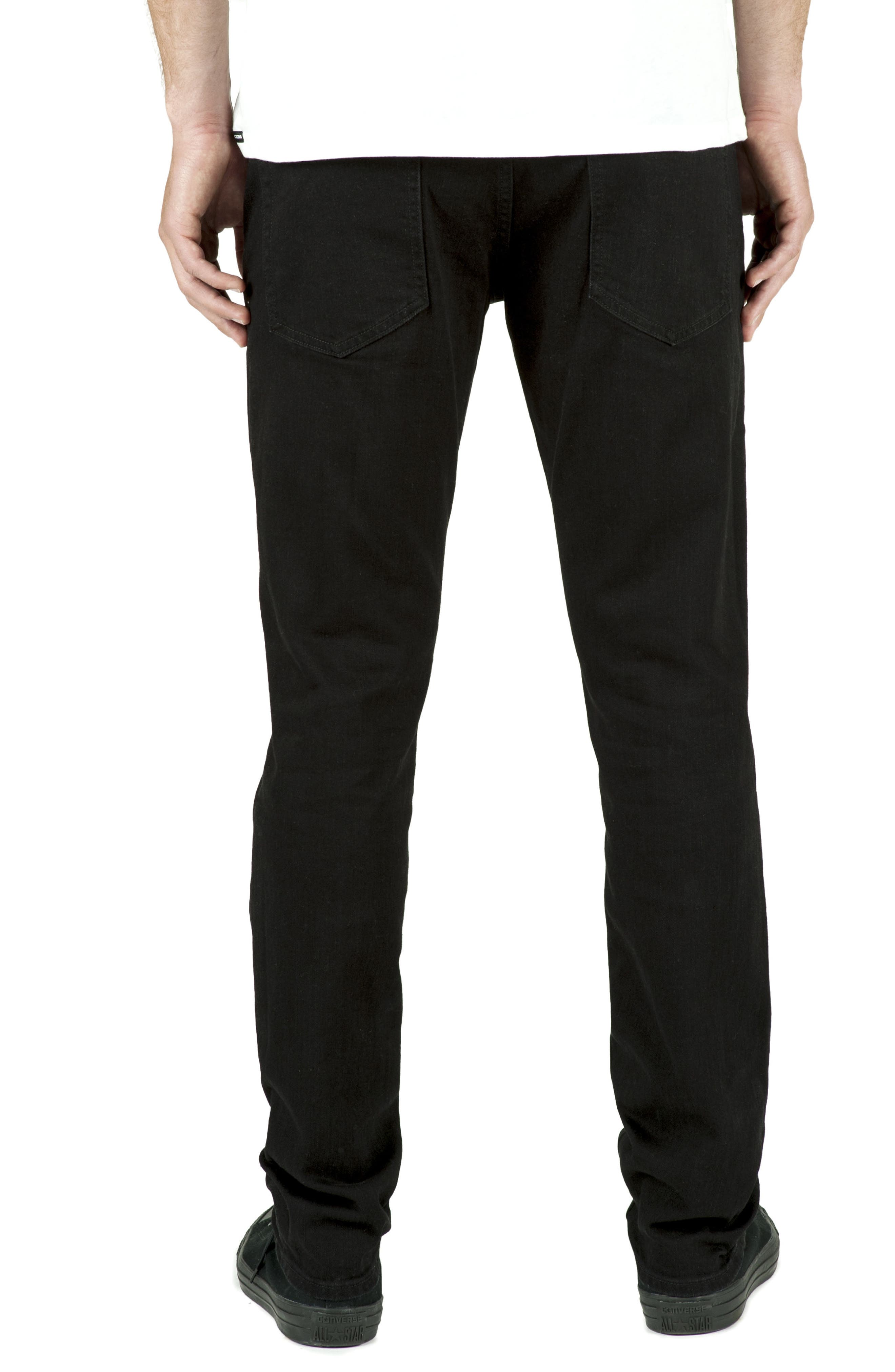 'Solver' Tapered Jeans,                             Alternate thumbnail 5, color,