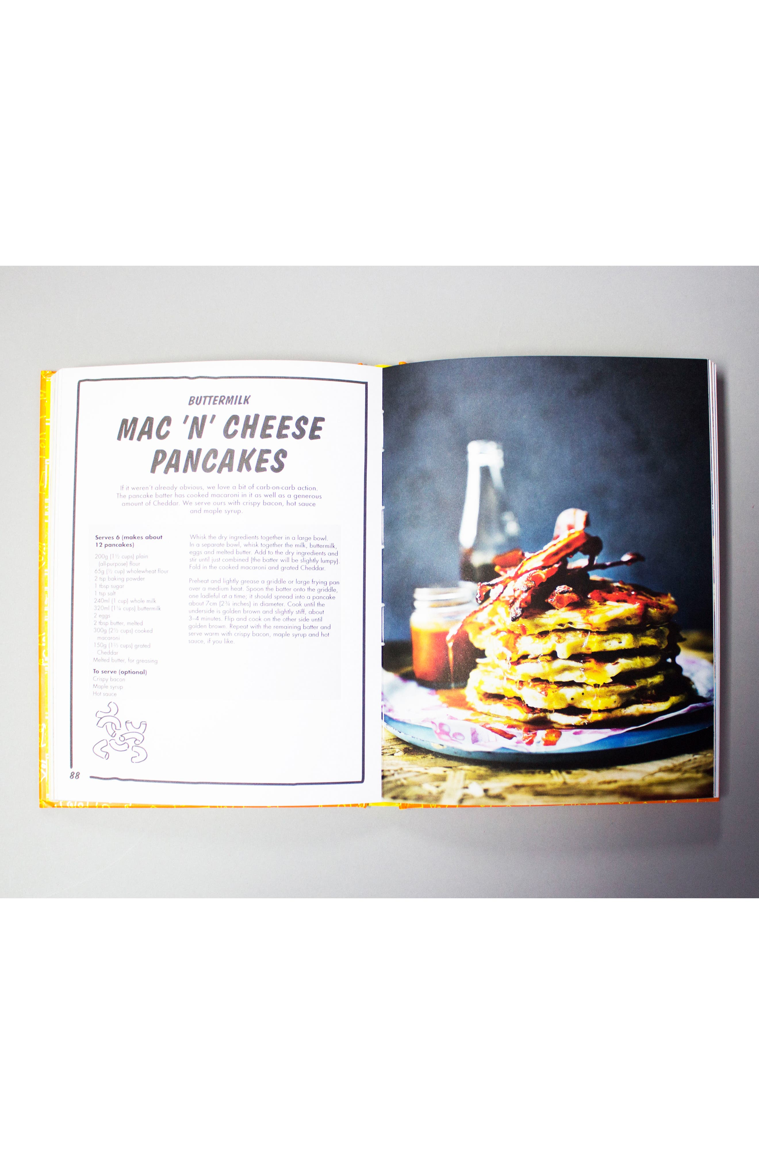 Grill My Cheese Cookbook,                             Alternate thumbnail 5, color,                             YELLOW