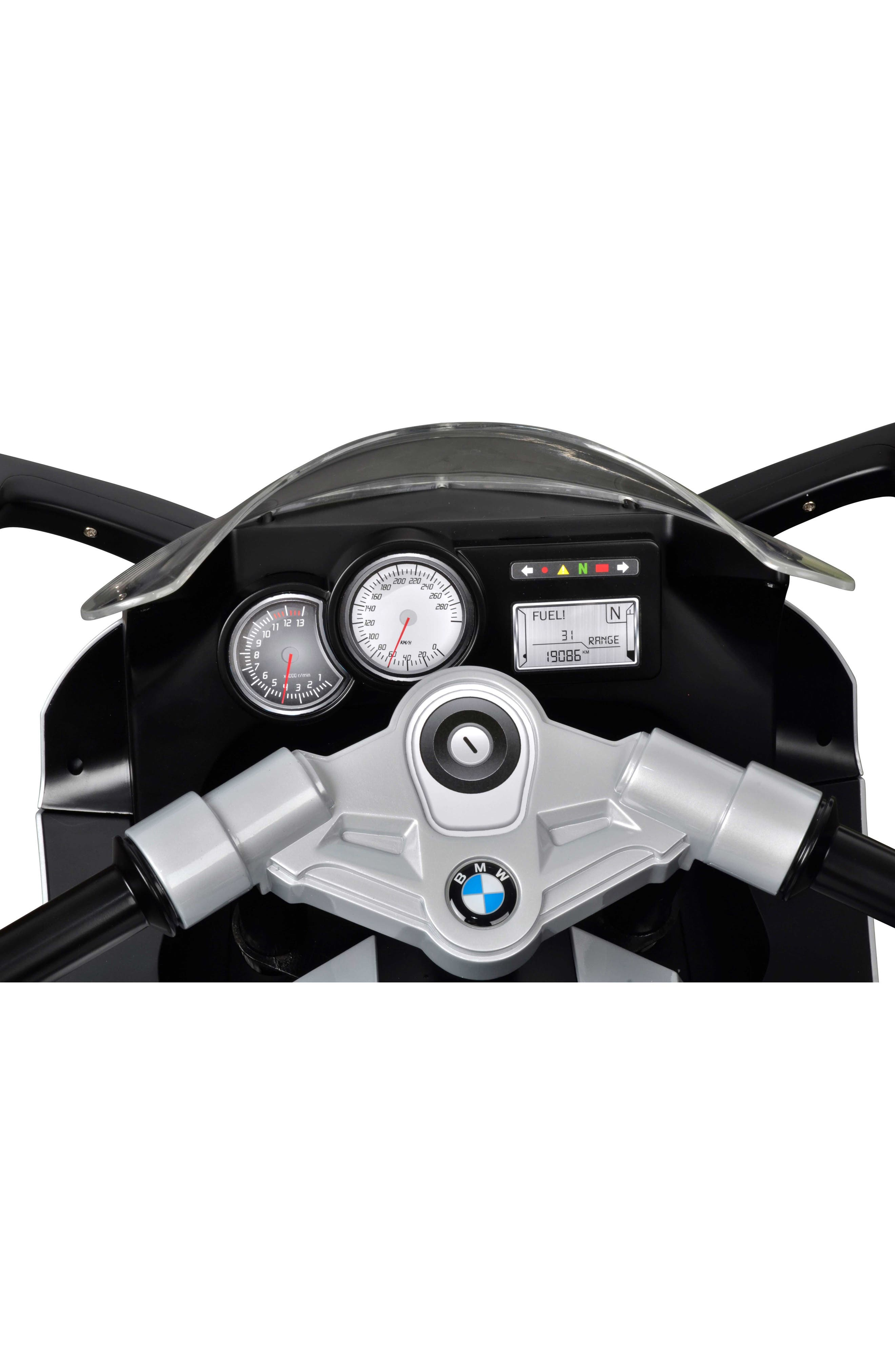 BEST RIDE ON CARS,                             BMW Ride-On Toy Motorcycle,                             Alternate thumbnail 3, color,                             RED