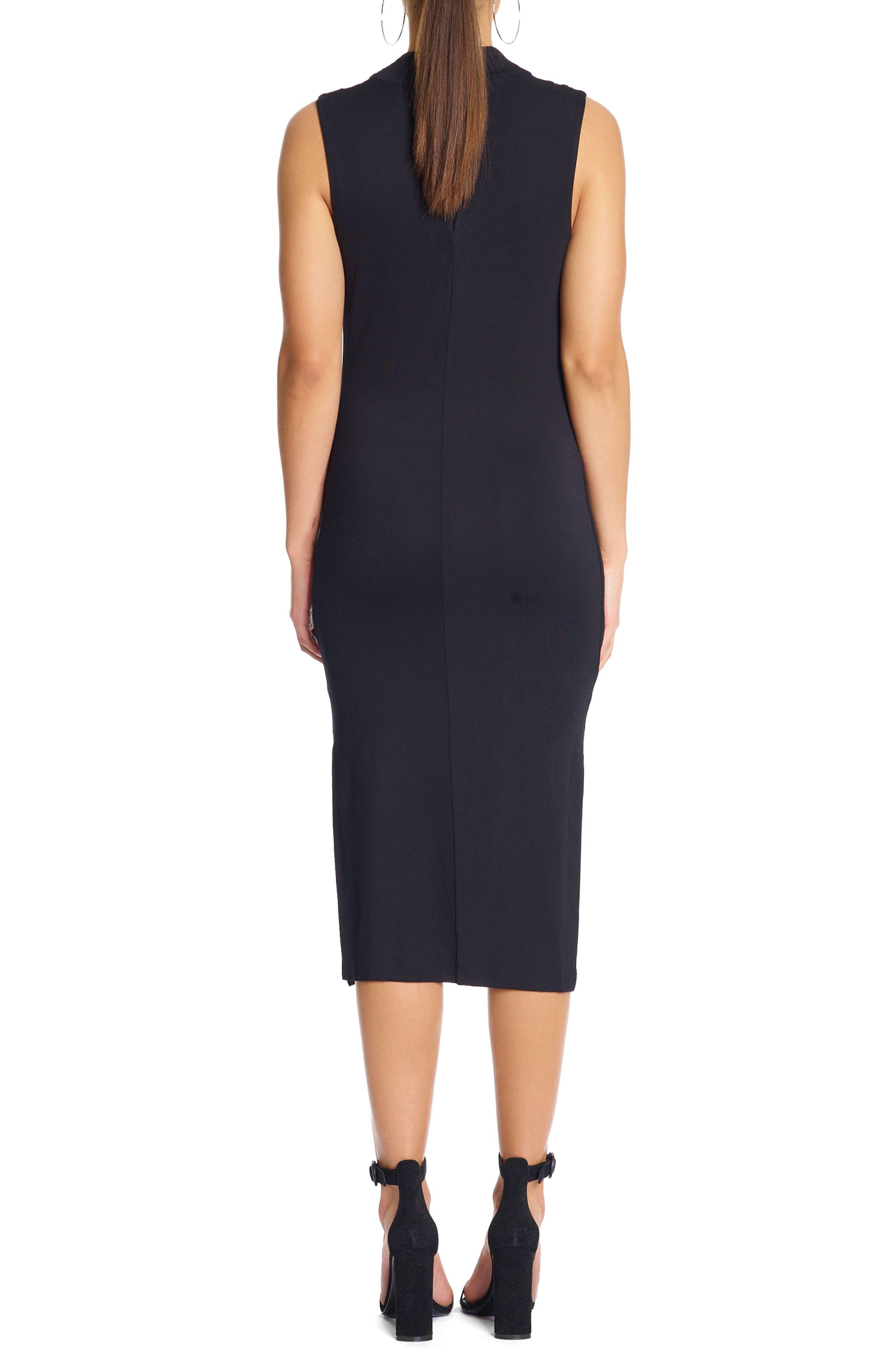 Twist Front Dress,                             Alternate thumbnail 2, color,