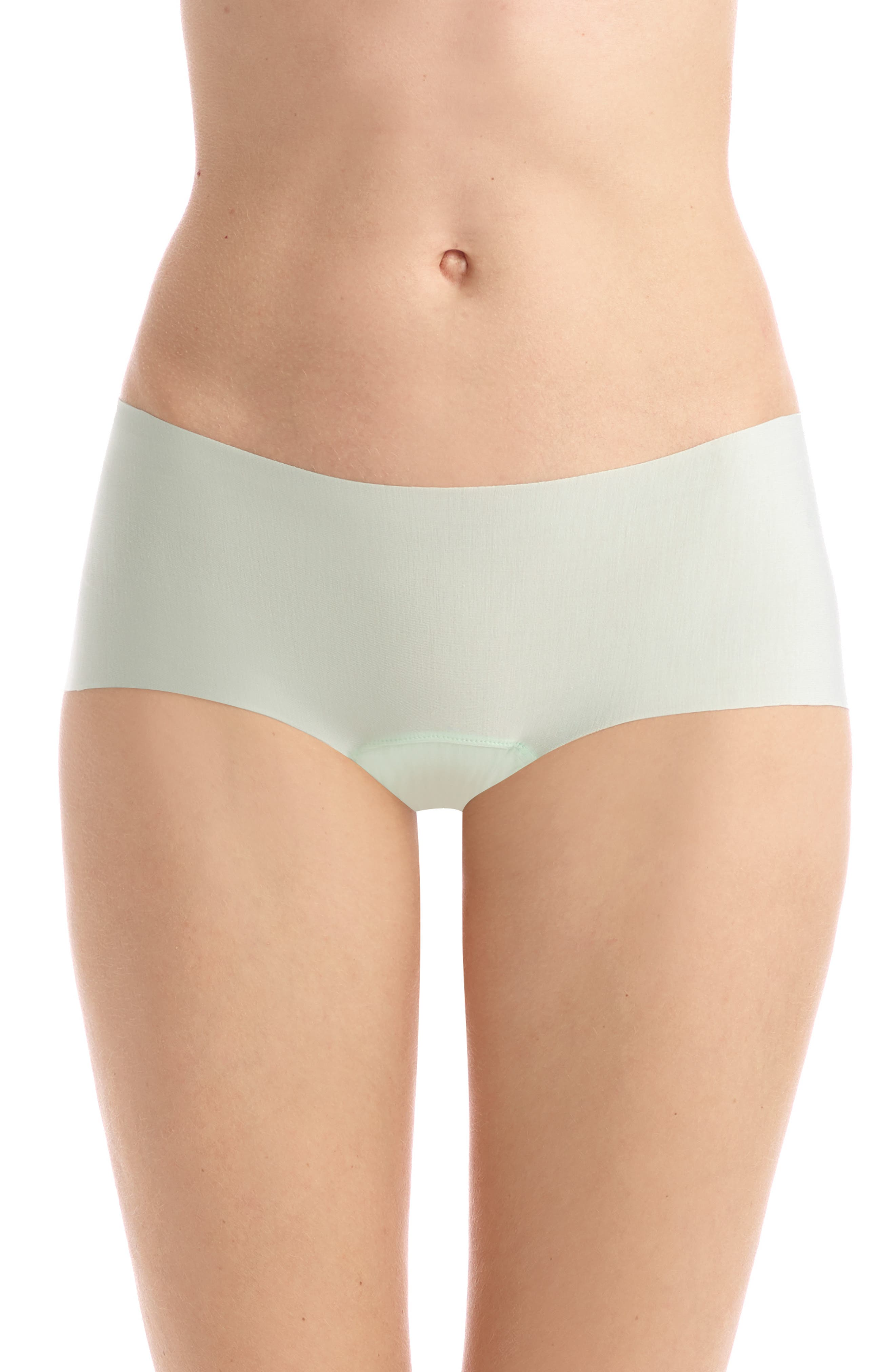 COMMANDO Butter Seamless Hipster Panties, Main, color, MINT
